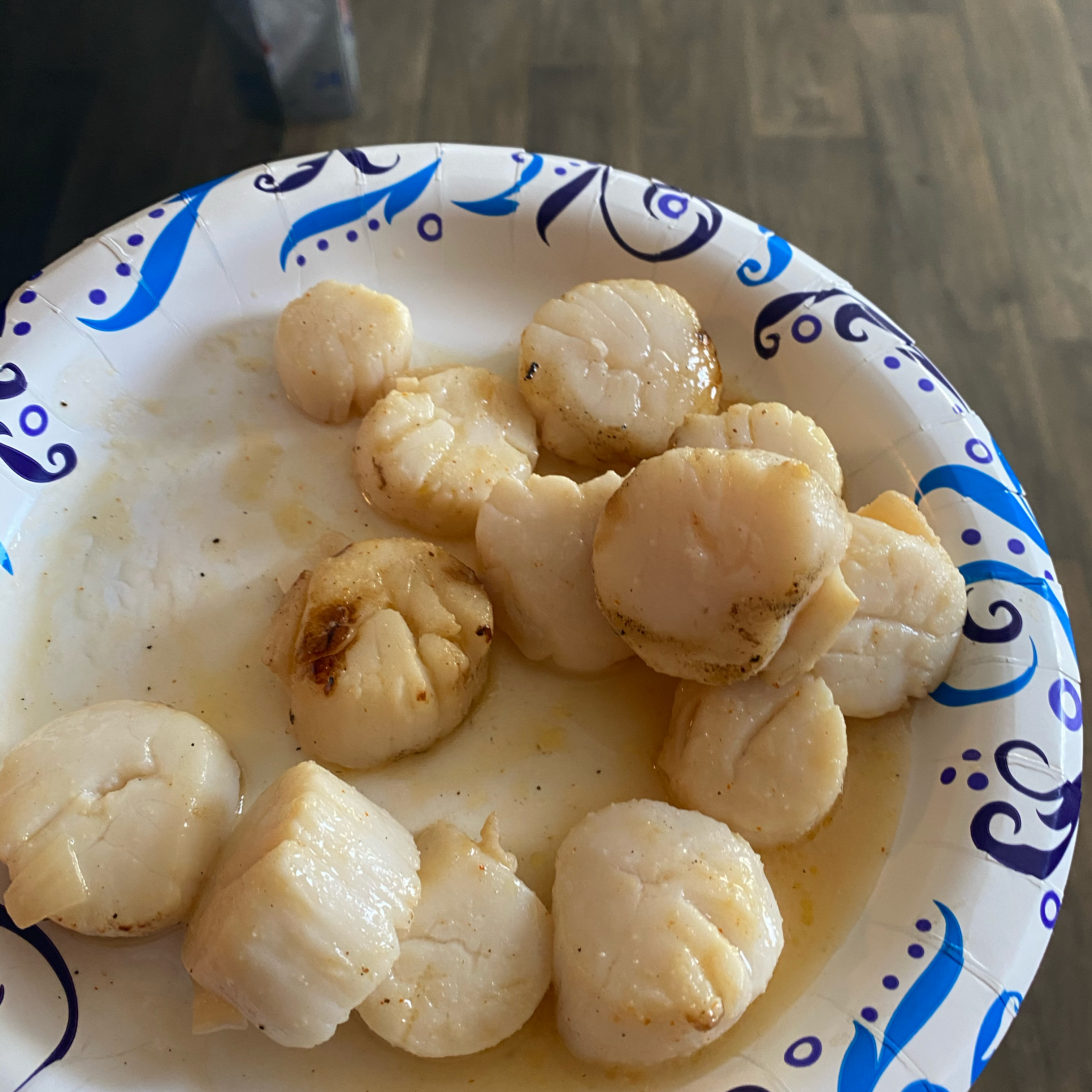 Grilled Scallops april