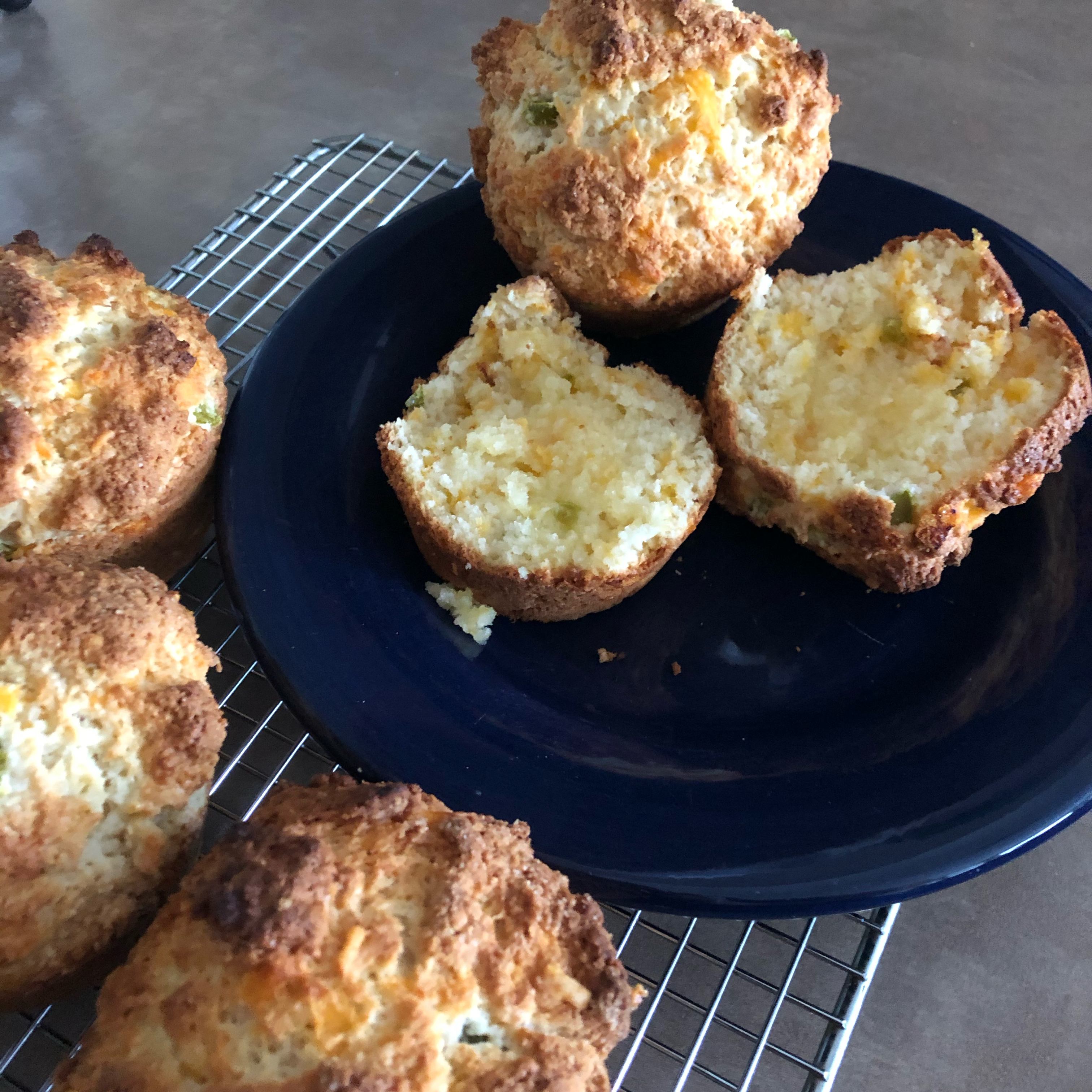Cheddar Cheese Muffins Belinda