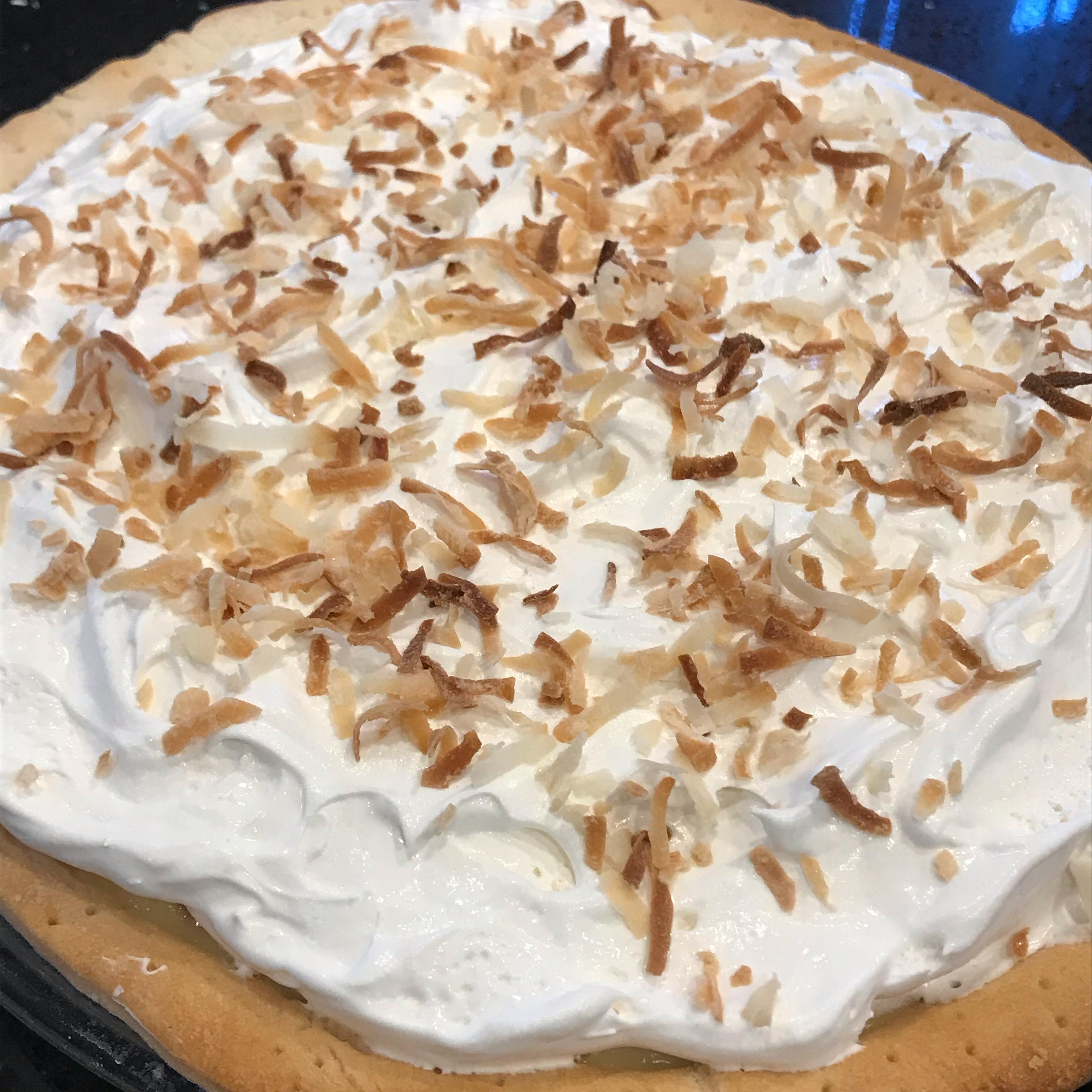 Old Fashioned Coconut Cream Pie luvs2cook
