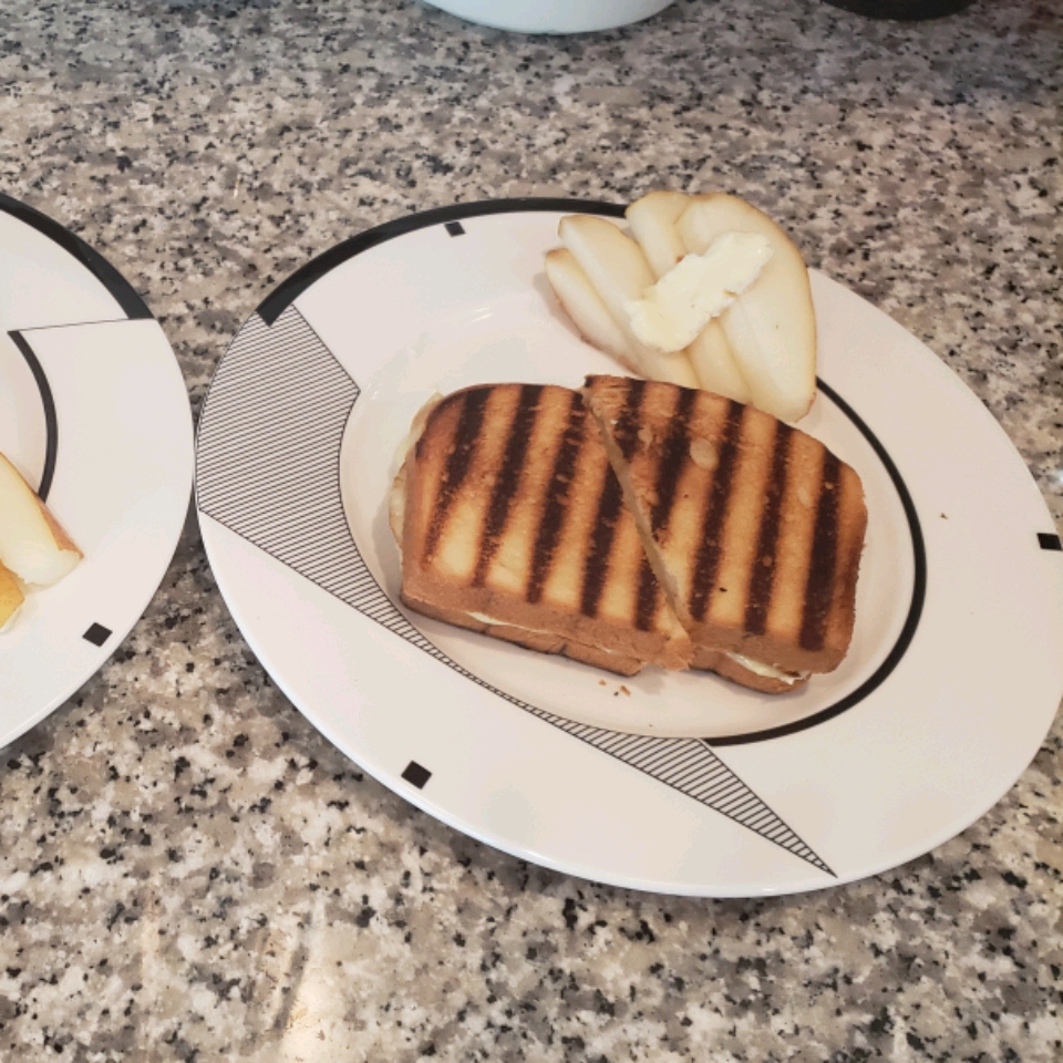 Grilled Brie and Pear Sandwich Catherine Roberts