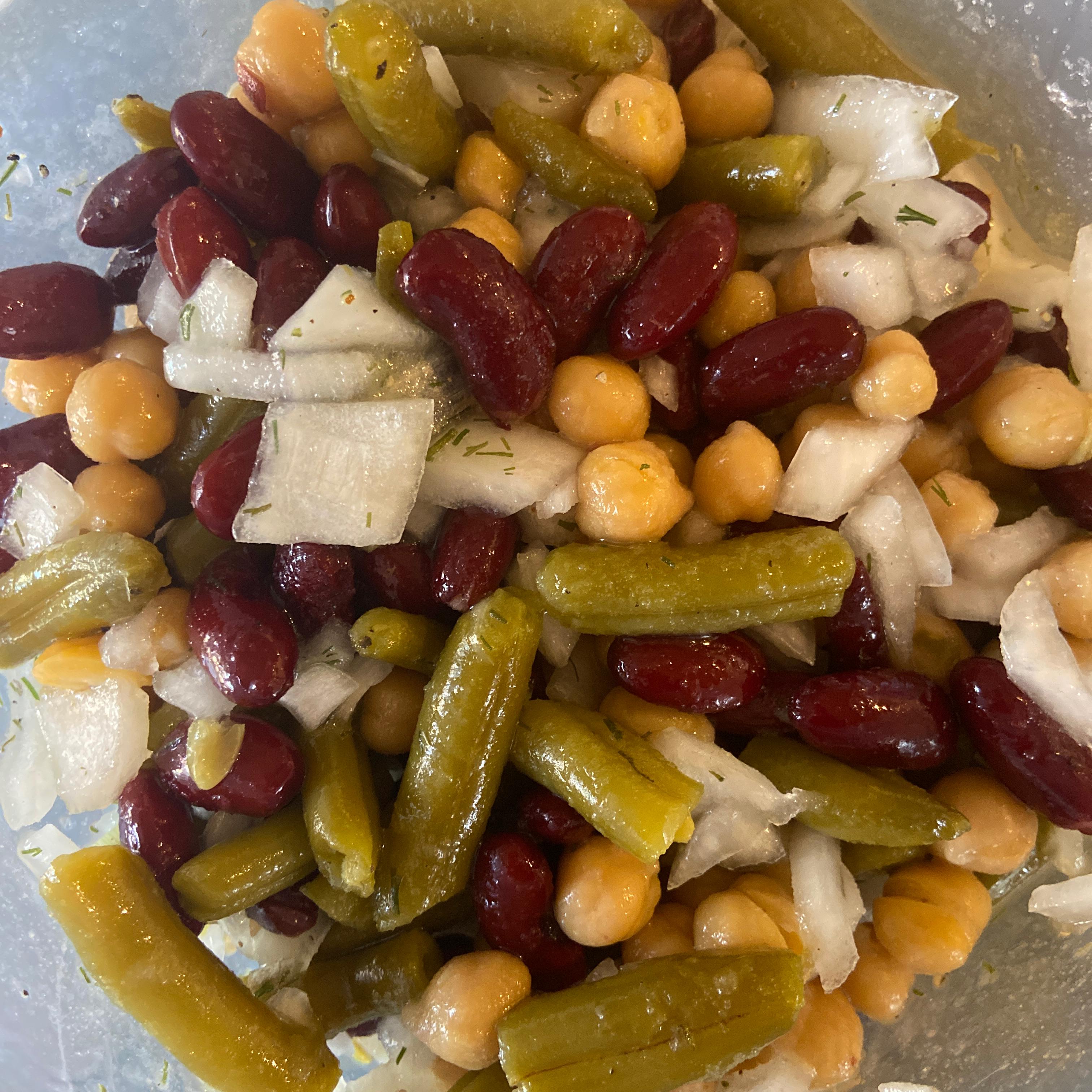 Three Bean Salad Elizabeth