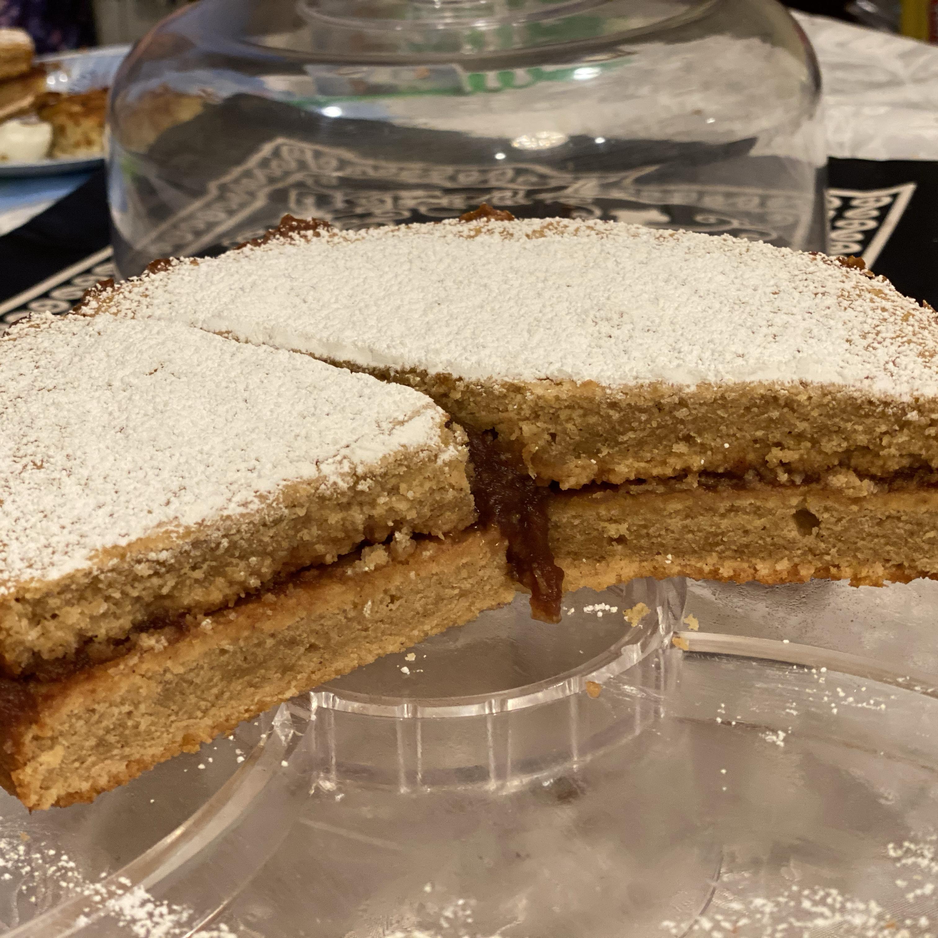 Moist Passover Apple Cake