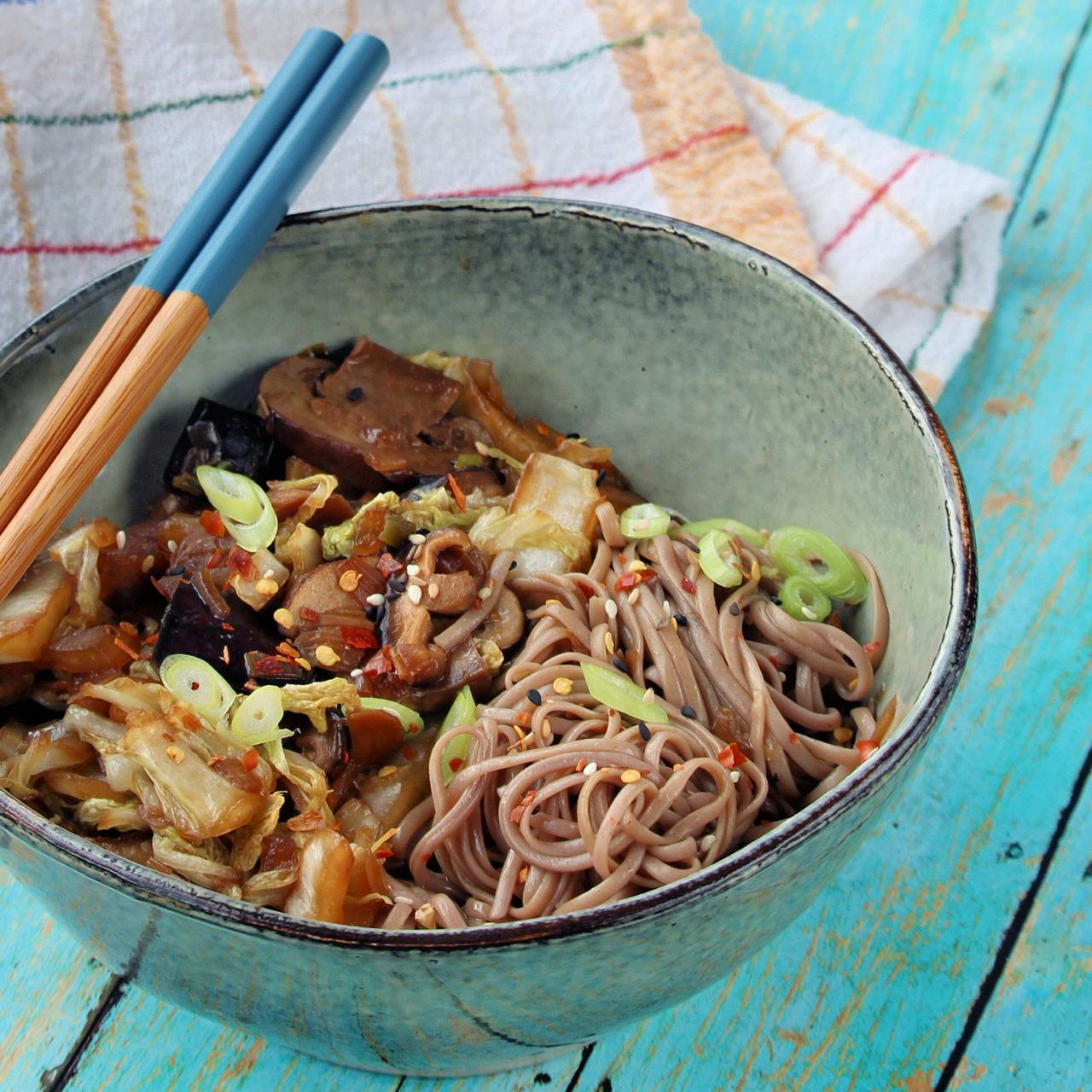 Vegan Stir-Fry Noodles