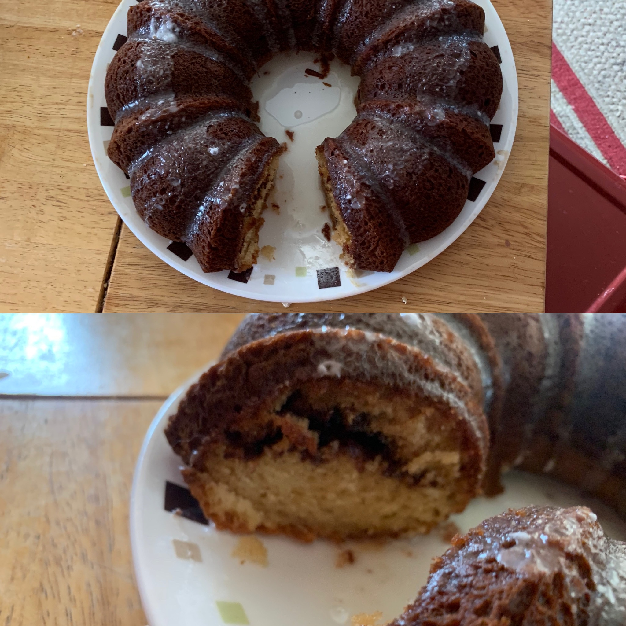 Cinnamon Swirl Bundt Coffee Cake carsch