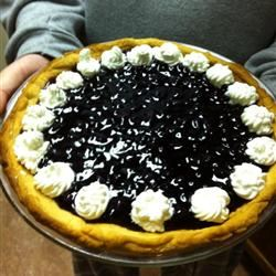 Fresh Blueberry Pie III