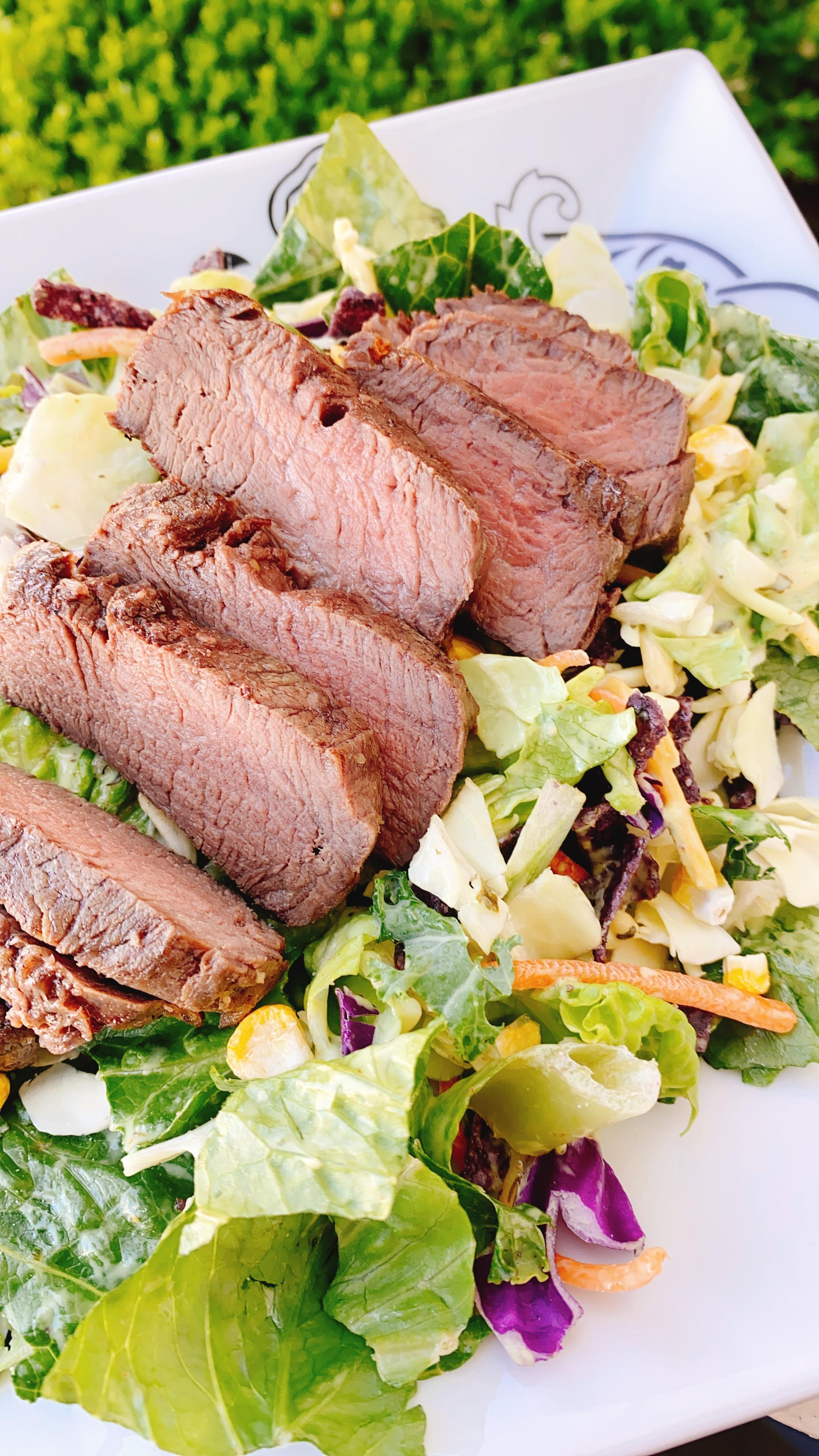 Confit Olive Oil Steak