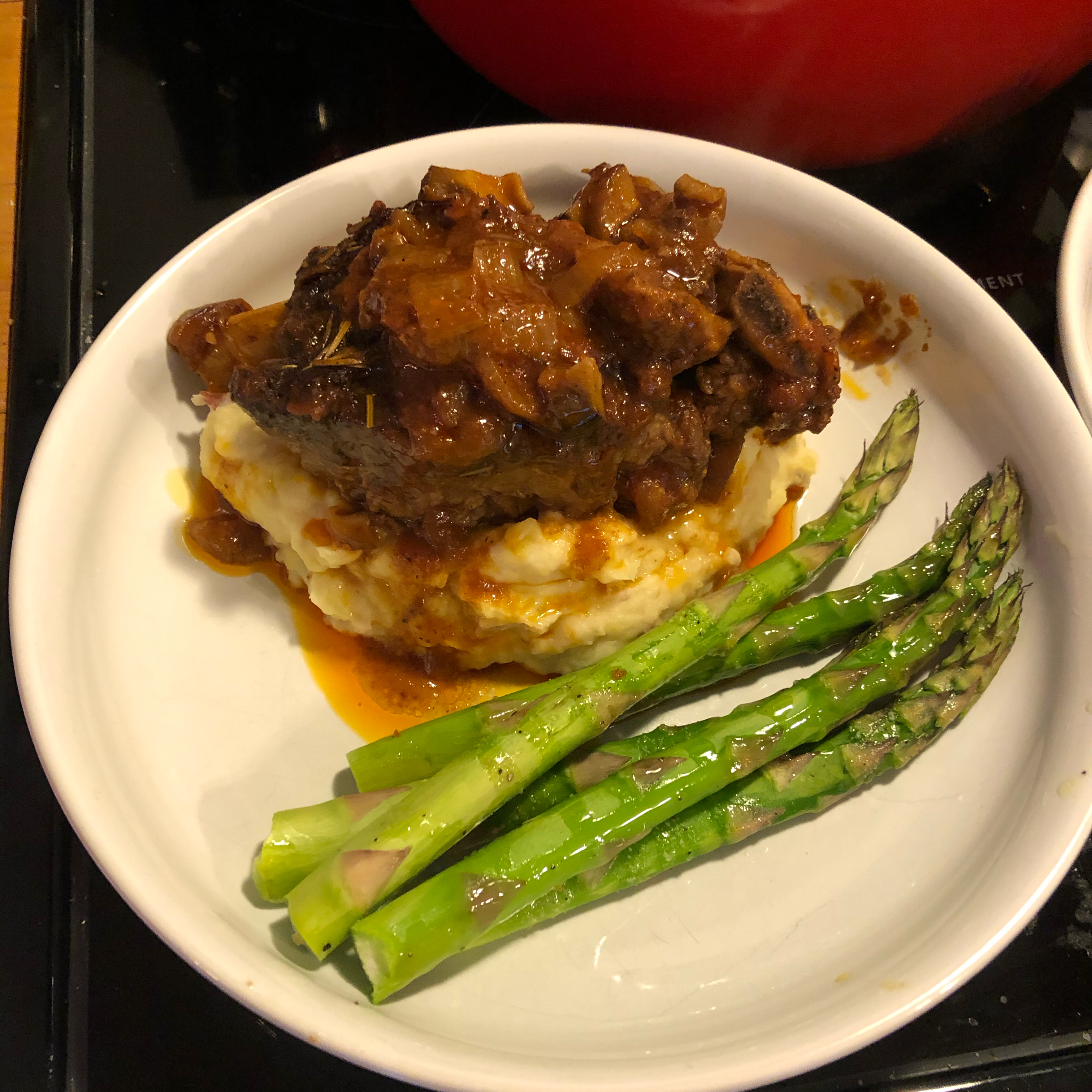 Short Ribs Braised with Mushrooms and Tomatoes Brian