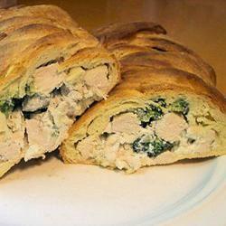 Chicken and Broccoli Braid