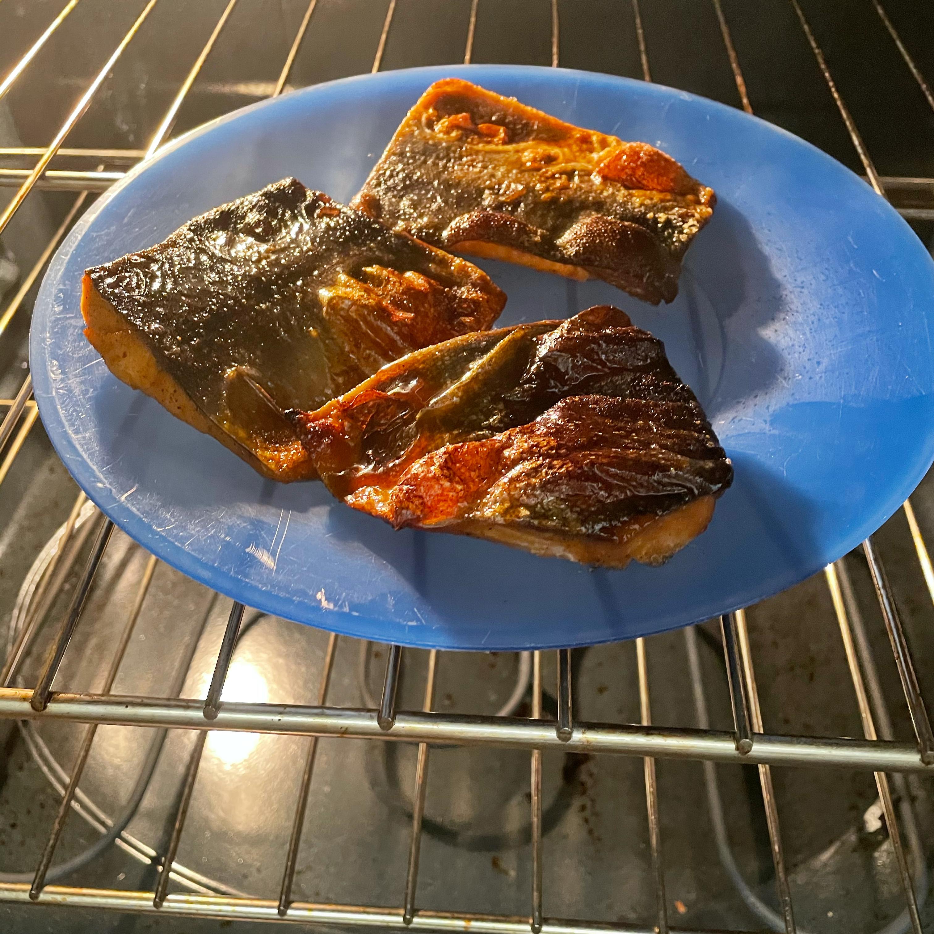 Cajun Air Fryer Salmon