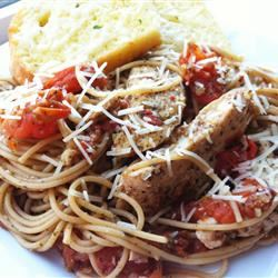 Sweet Basil and Oregano Bruschetta Chicken LatinaCook