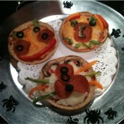 Creepy Mini Pizzas Jamie Justice Yost