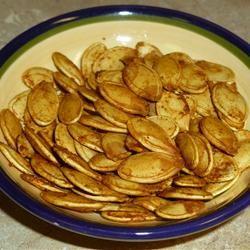 Savory Toasted Pumpkin Seeds Arcelia
