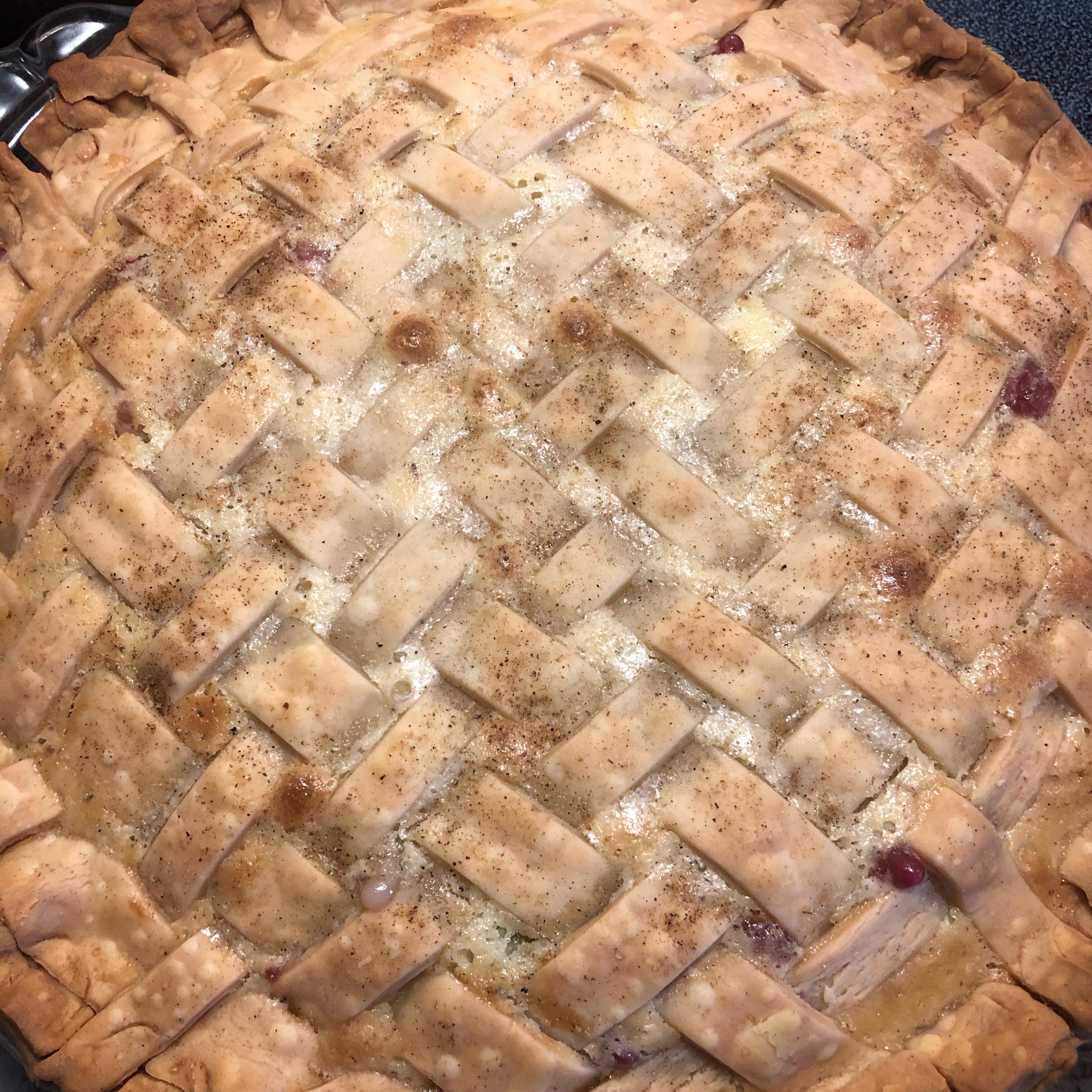 Sour Cream Gooseberry Pie Angie Bergman