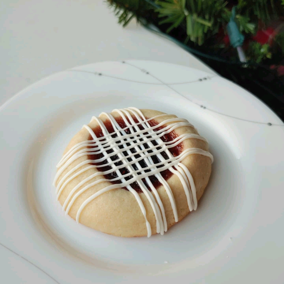 Jam Filled Butter Cookies