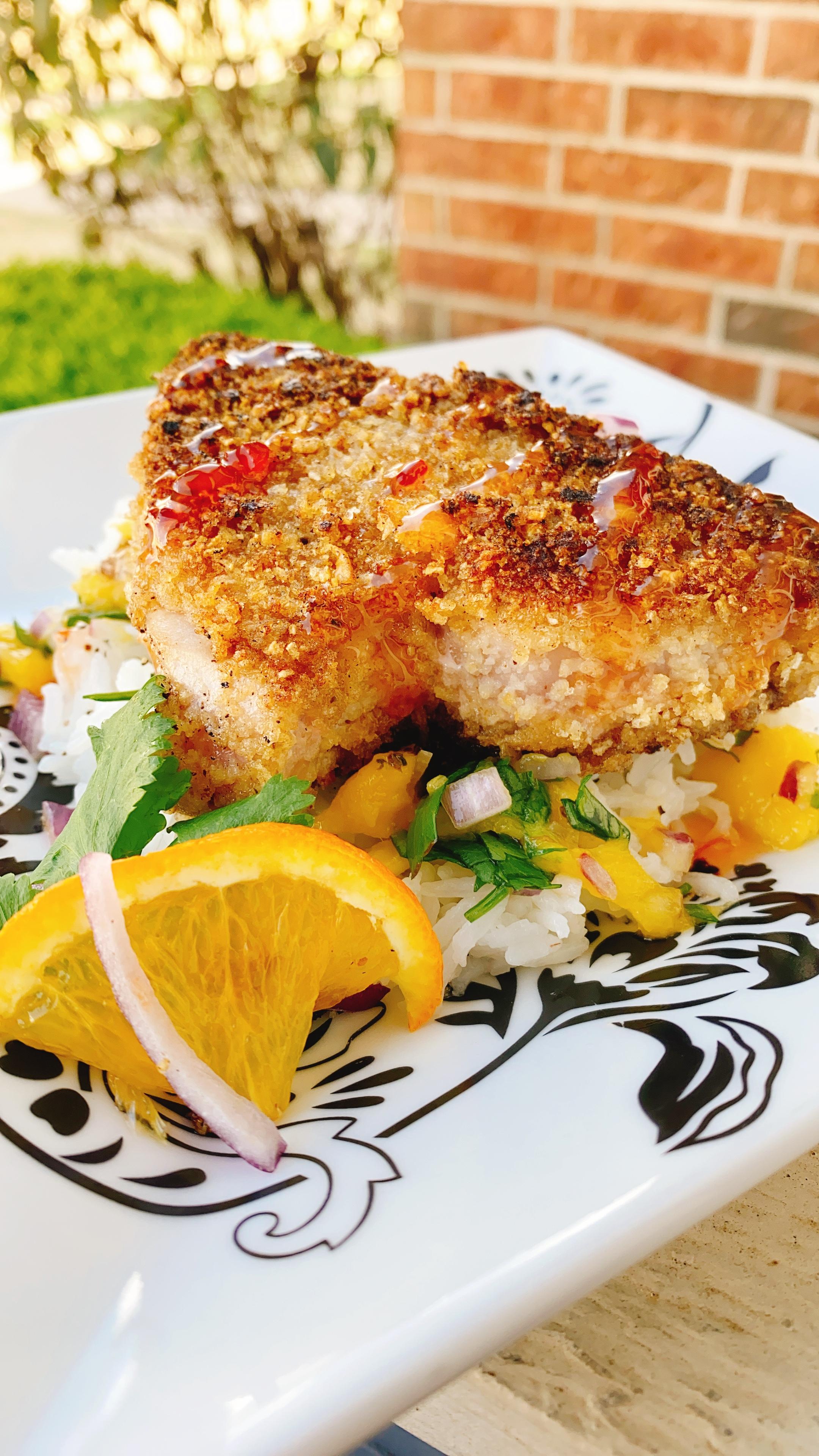 Triple Citrus Tuna Steak