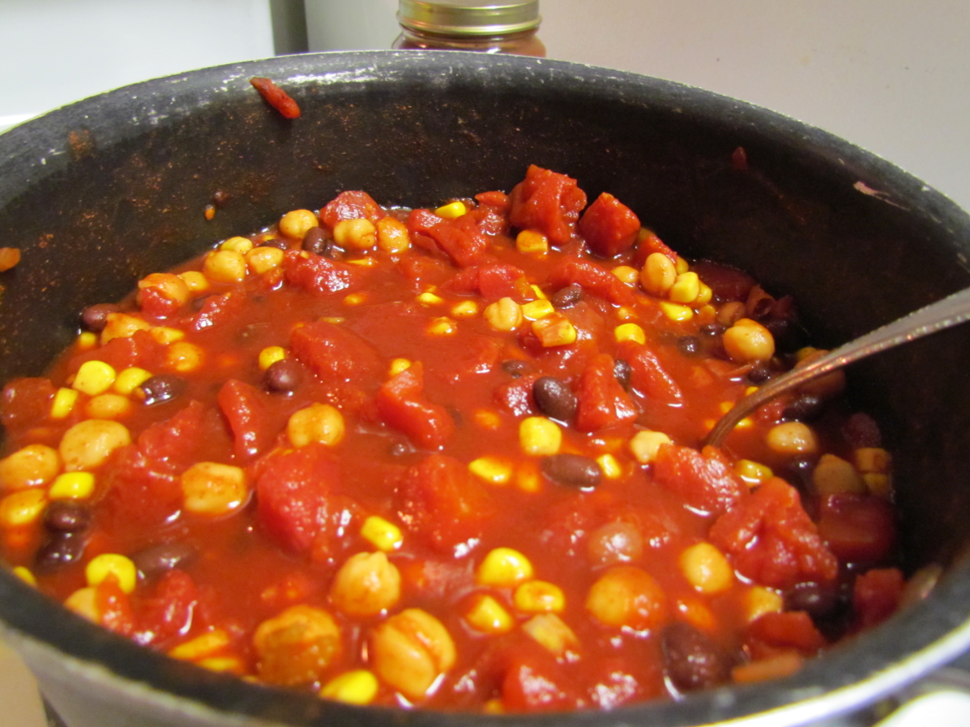 Quick Veggie Chili