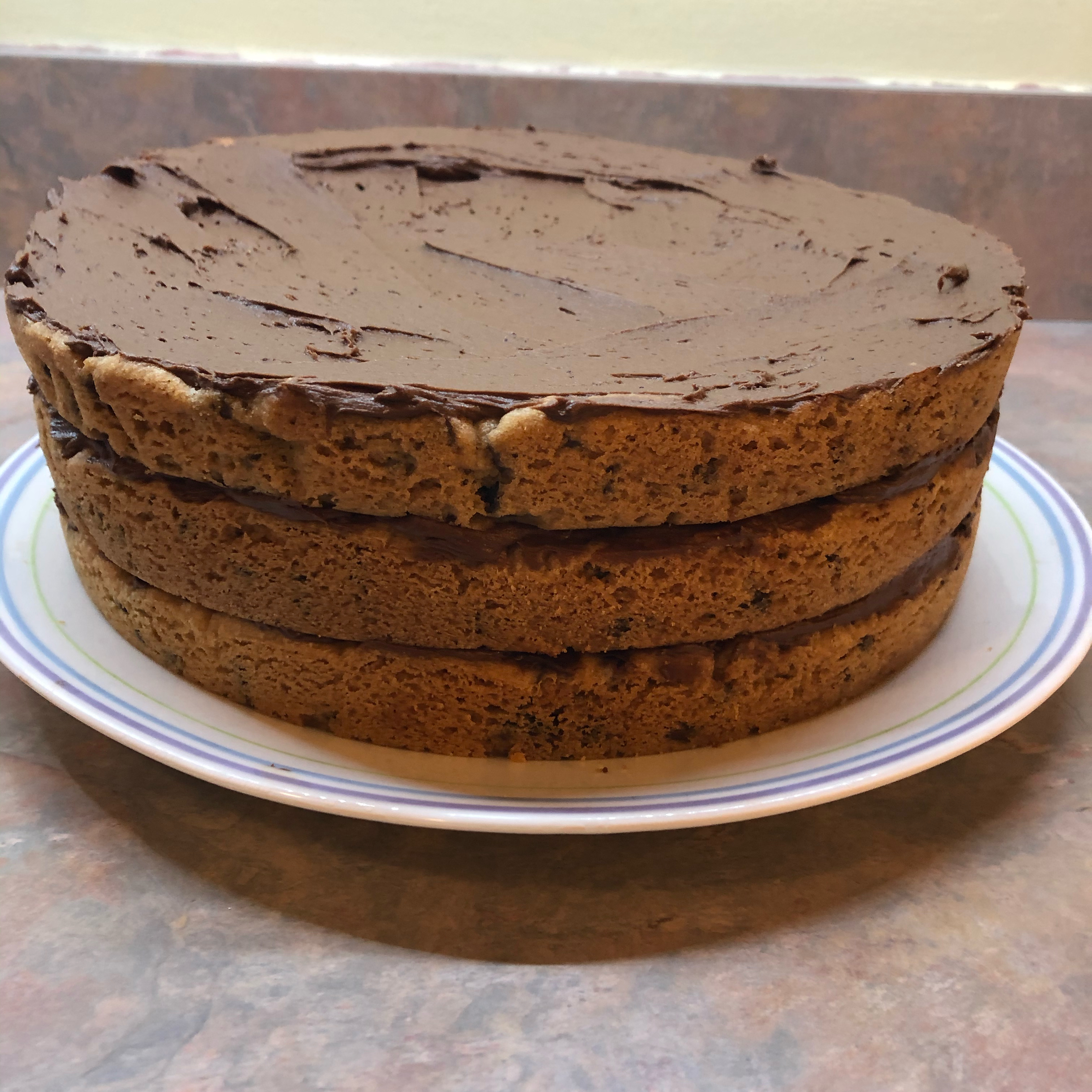 Chocolate Chip Cookie Layer Cake Michelle Didion