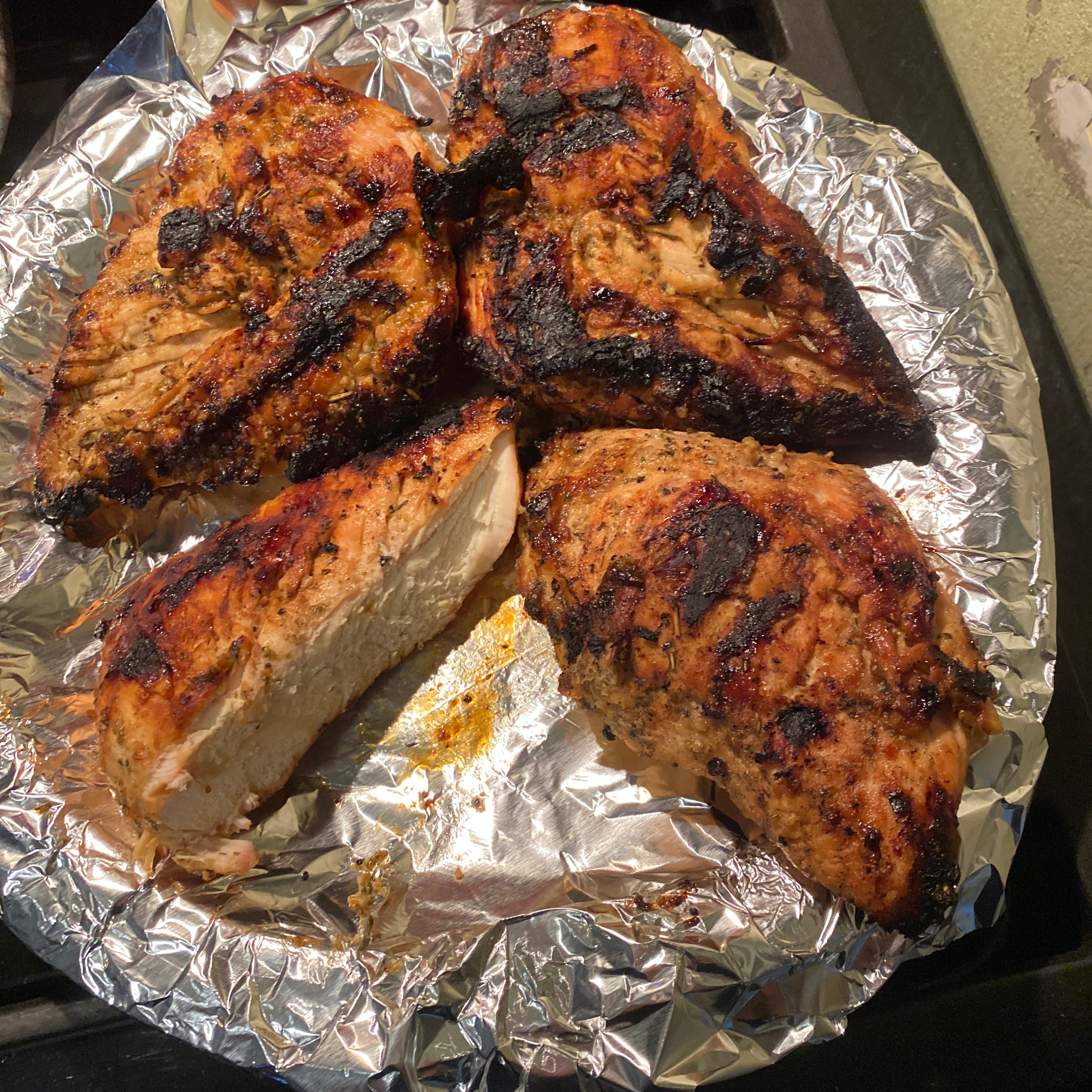Grilled Honey-Lemon Chicken
