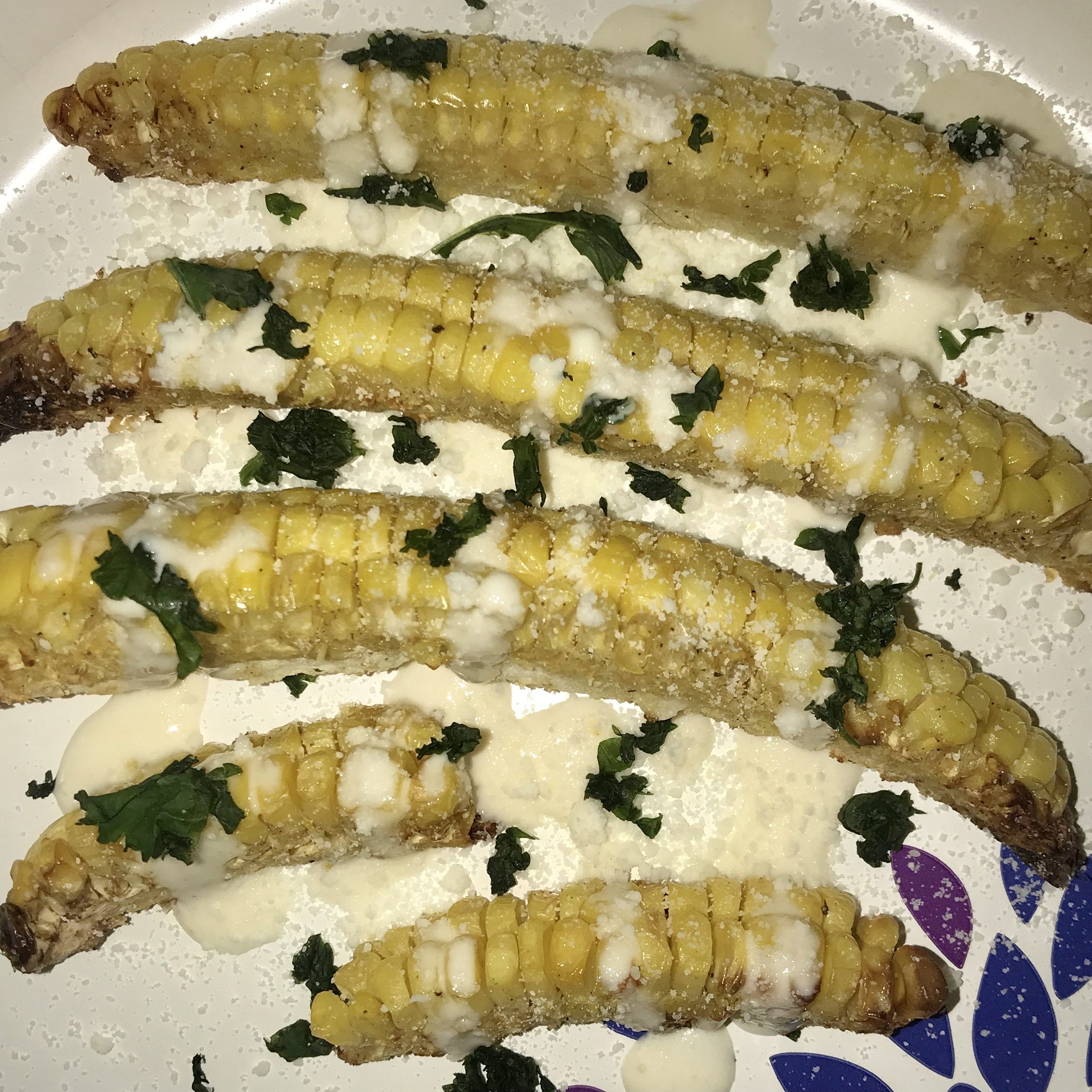 Air Fryer Corn Ribs witchypoo26