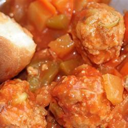 Sweet And Sour Chicken Meatballs AZ