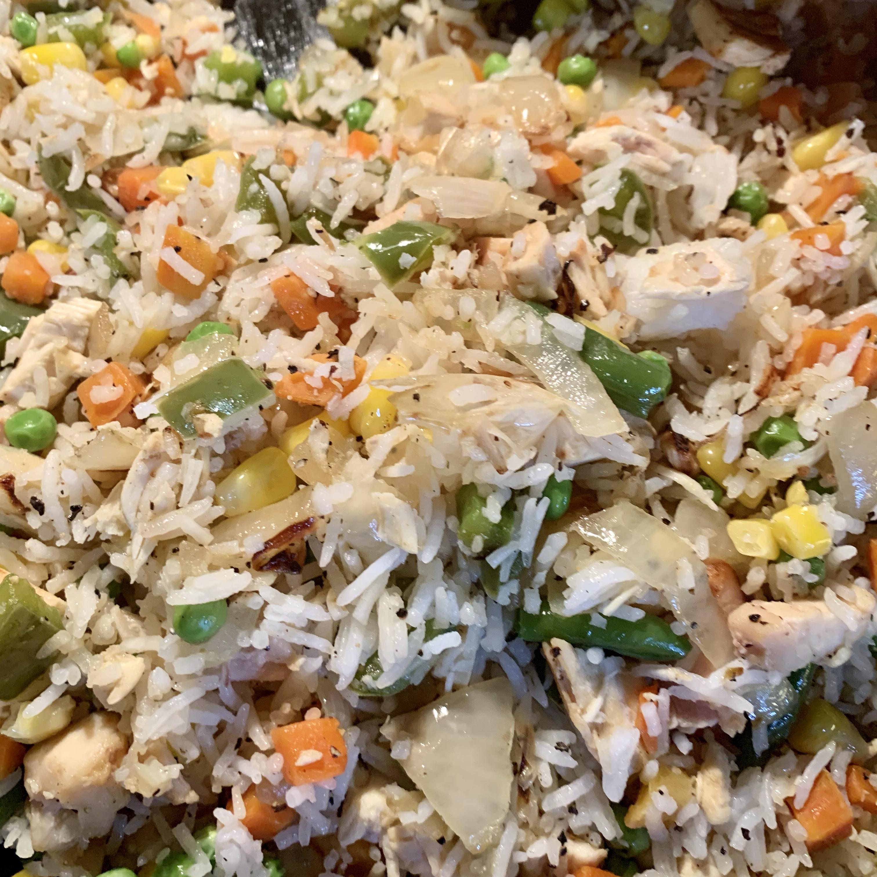 Chinese Chicken Fried Rice II