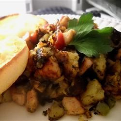 Sweet Potato Turkey Hash Linda T