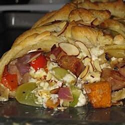 apple chicken sausage brunch braid recipe