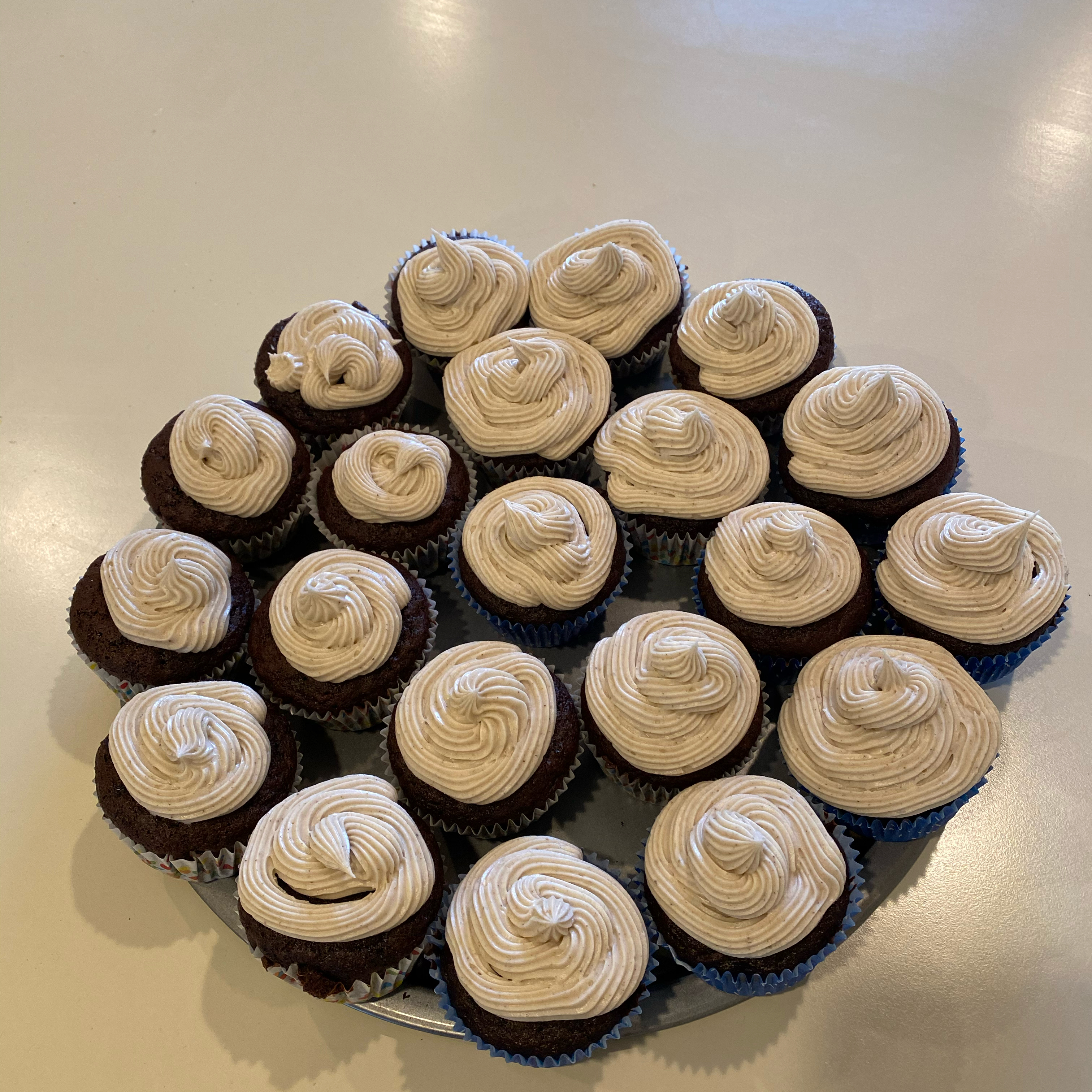 Chocolate Carrot Cupcakes Jp M