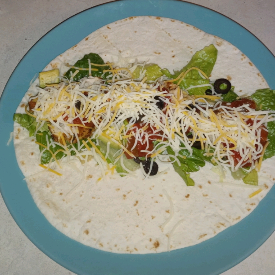Southwest Chicken Taco Salad KayakDave