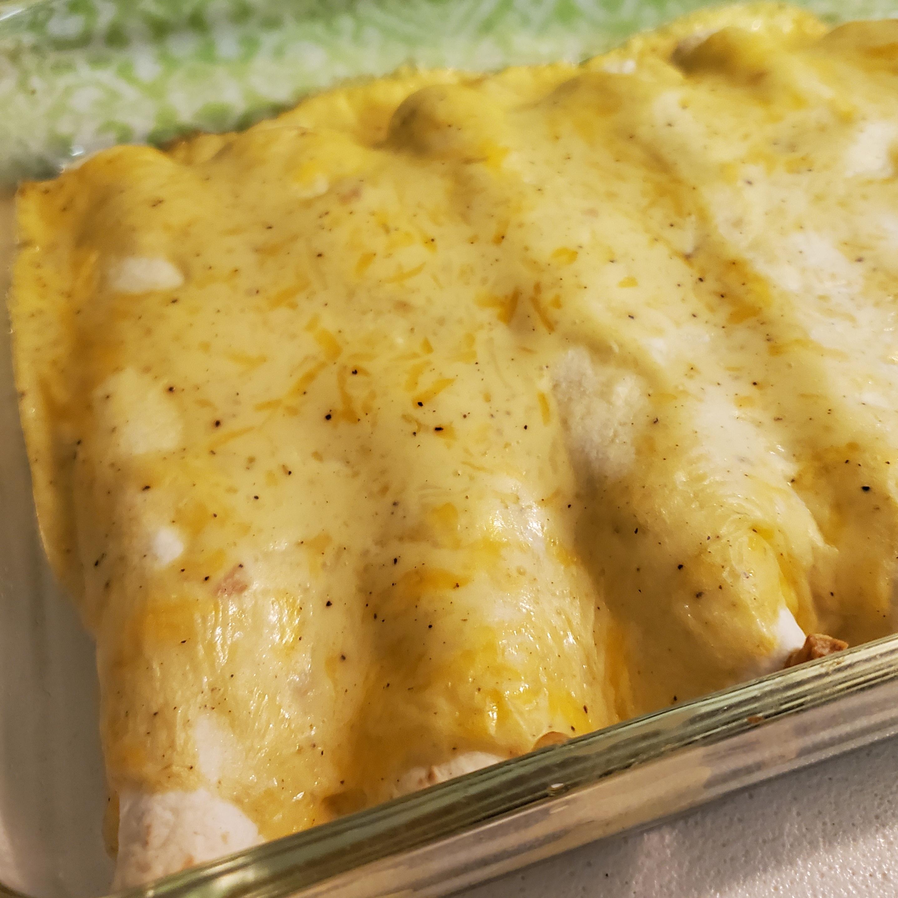 Grandma Kay's Chicken Enchiladas