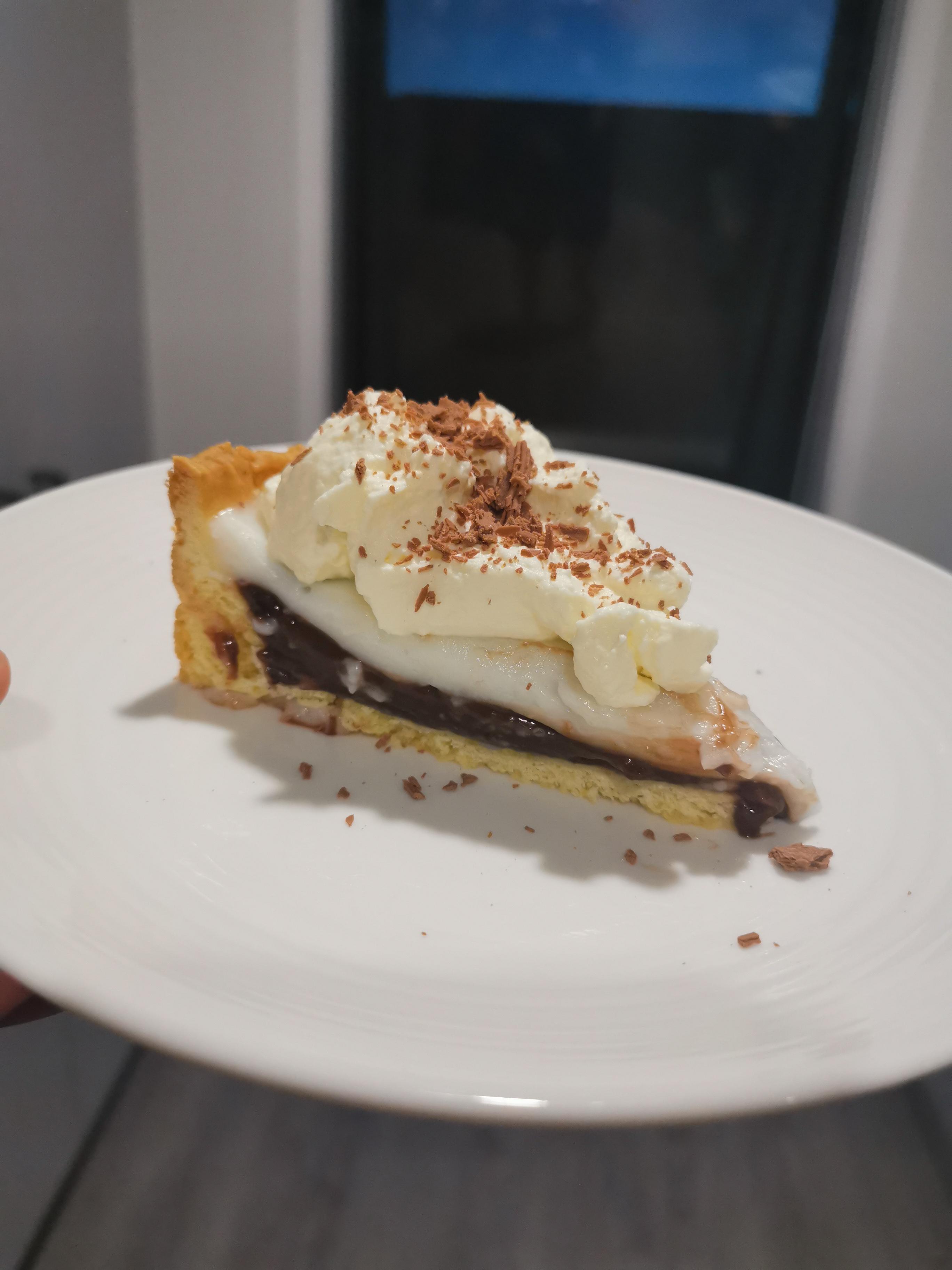 Coconut (Haupia) and Chocolate Pie