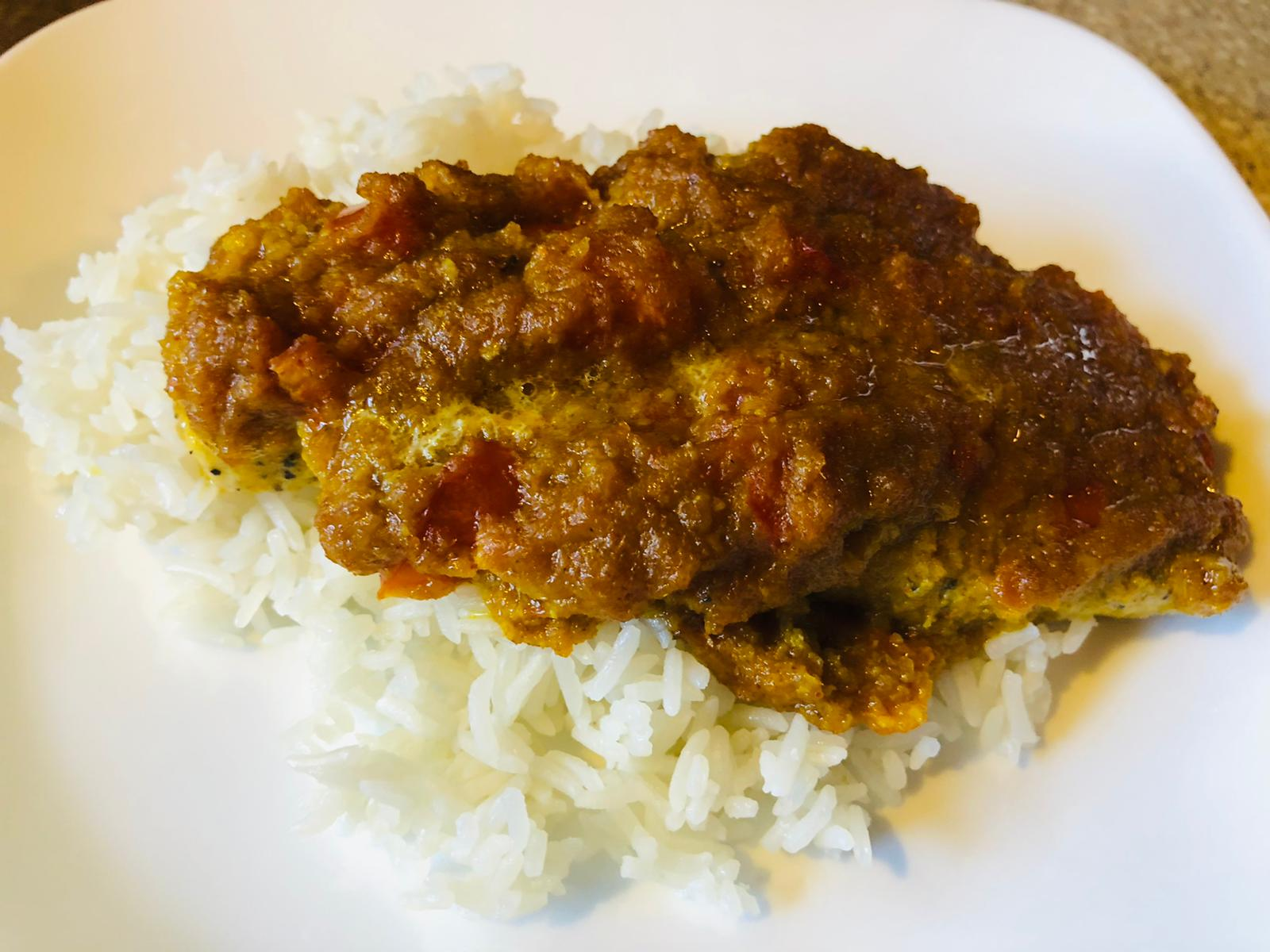 Indian Fish Curry