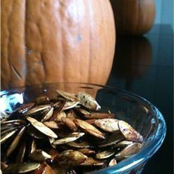 Savory Toasted Pumpkin Seeds Jamie Justice Yost
