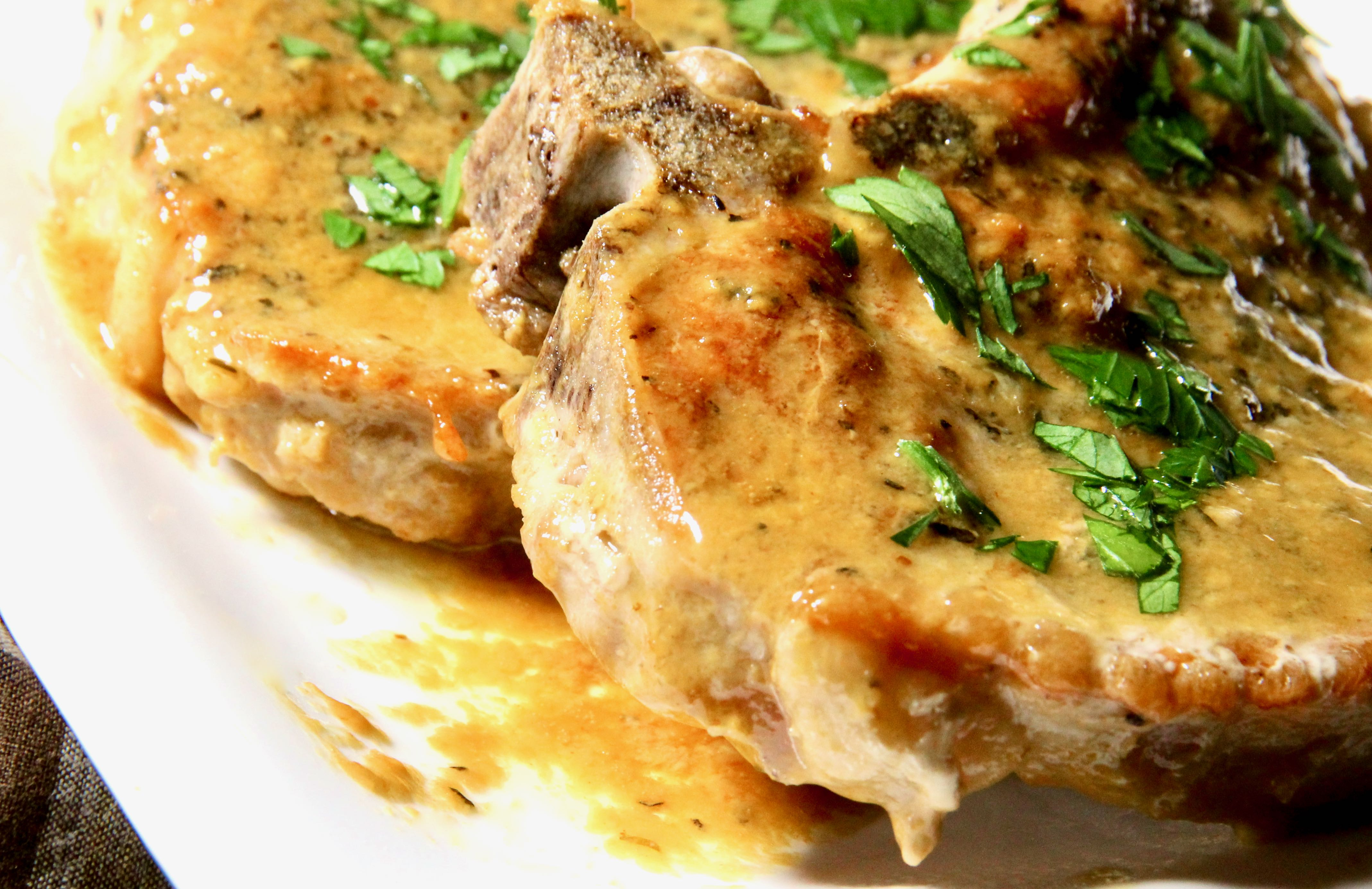 Instant Pot® Dijon Pork Chops