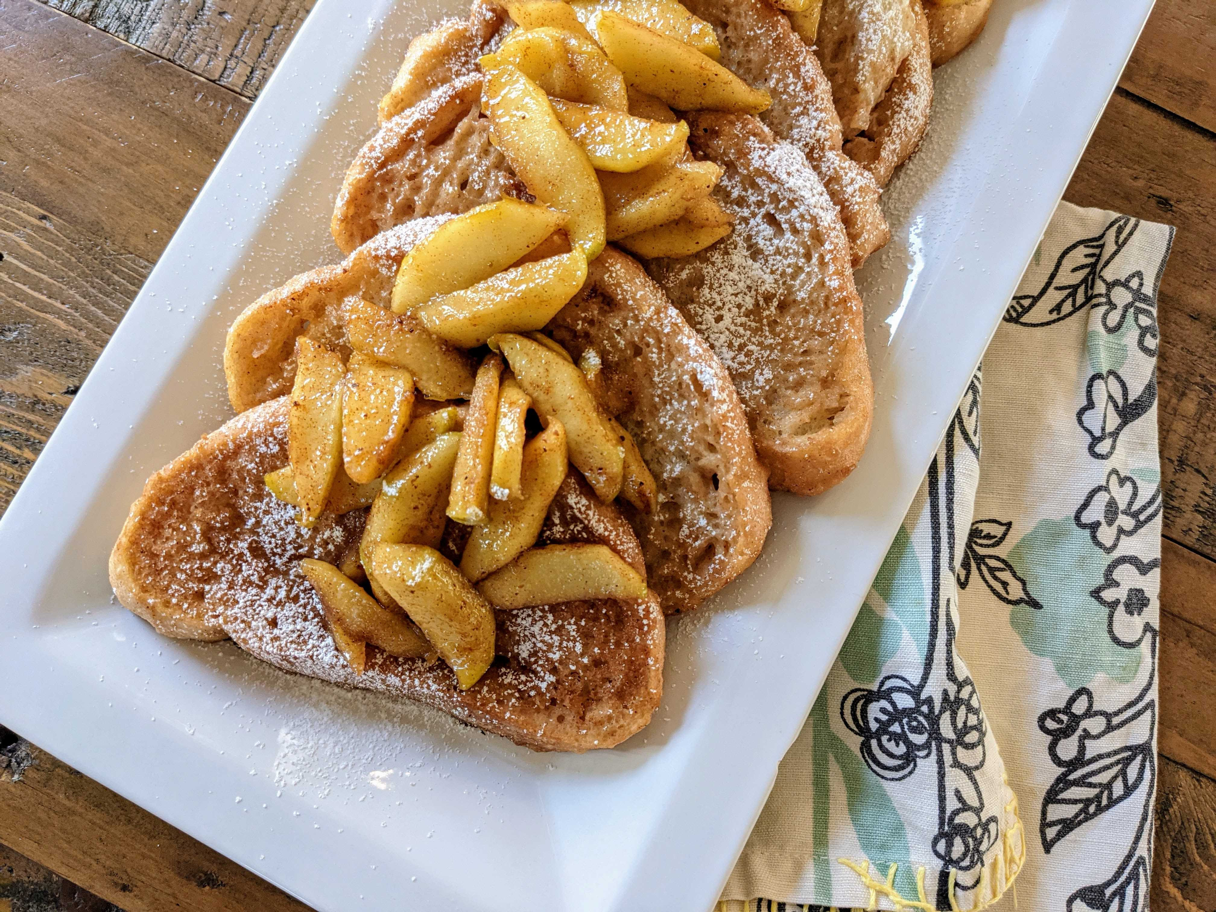 Dairy-Free Apple French Toast