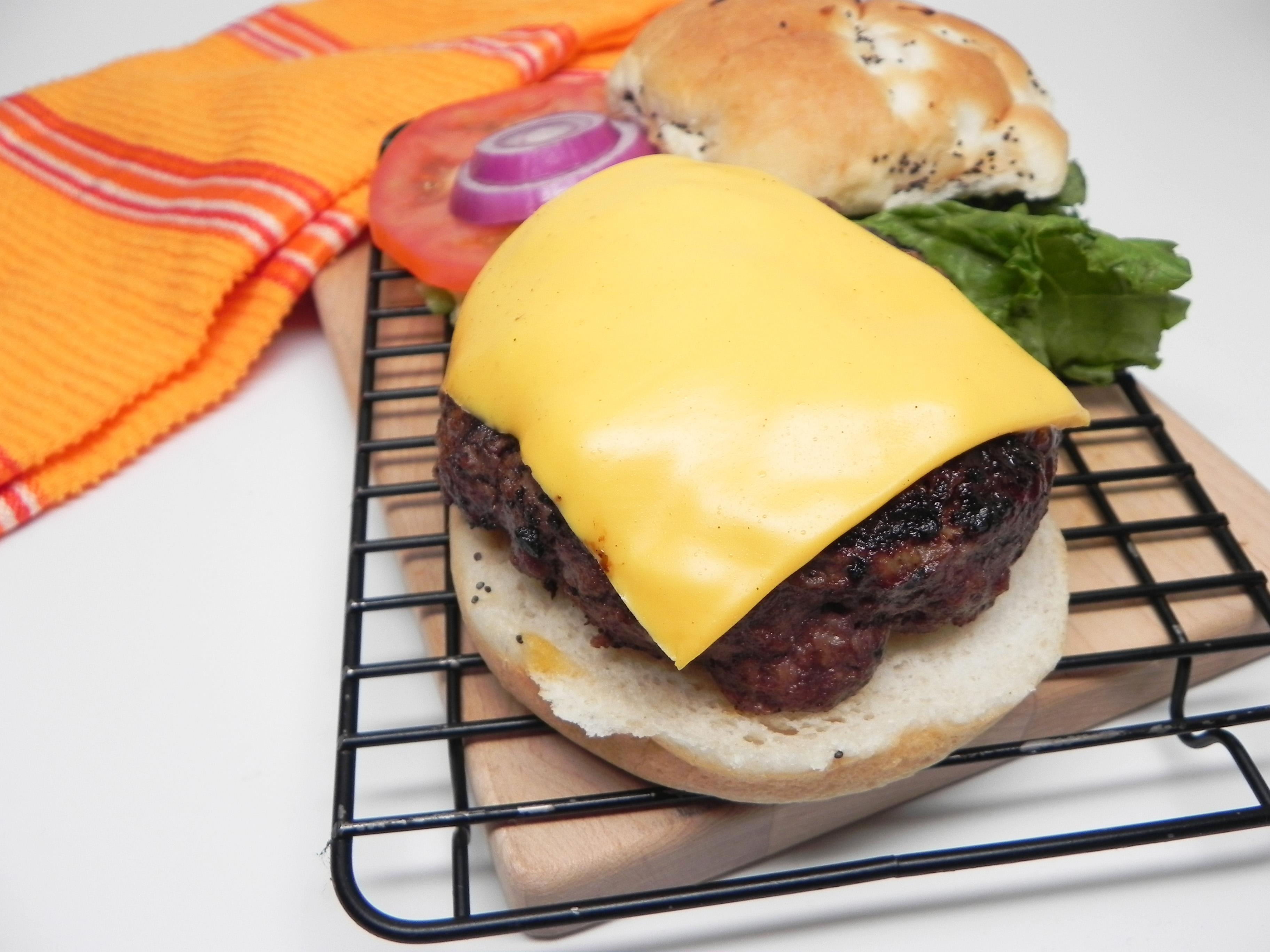 Cheesy 'Steakburger'
