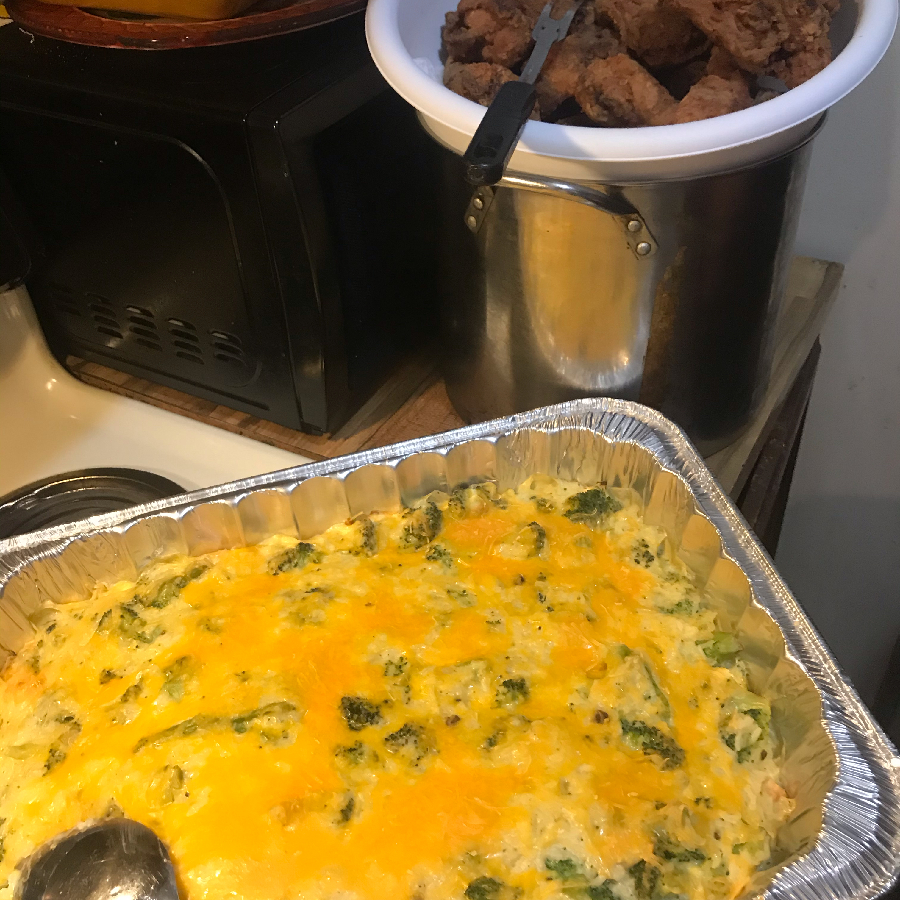 Broccoli Rice Casserole