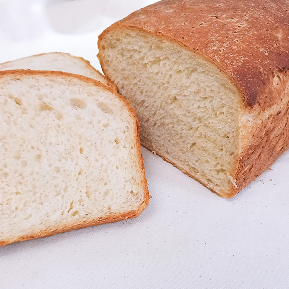 Old-Fashioned Porridge and Molasses Bread Vladimir