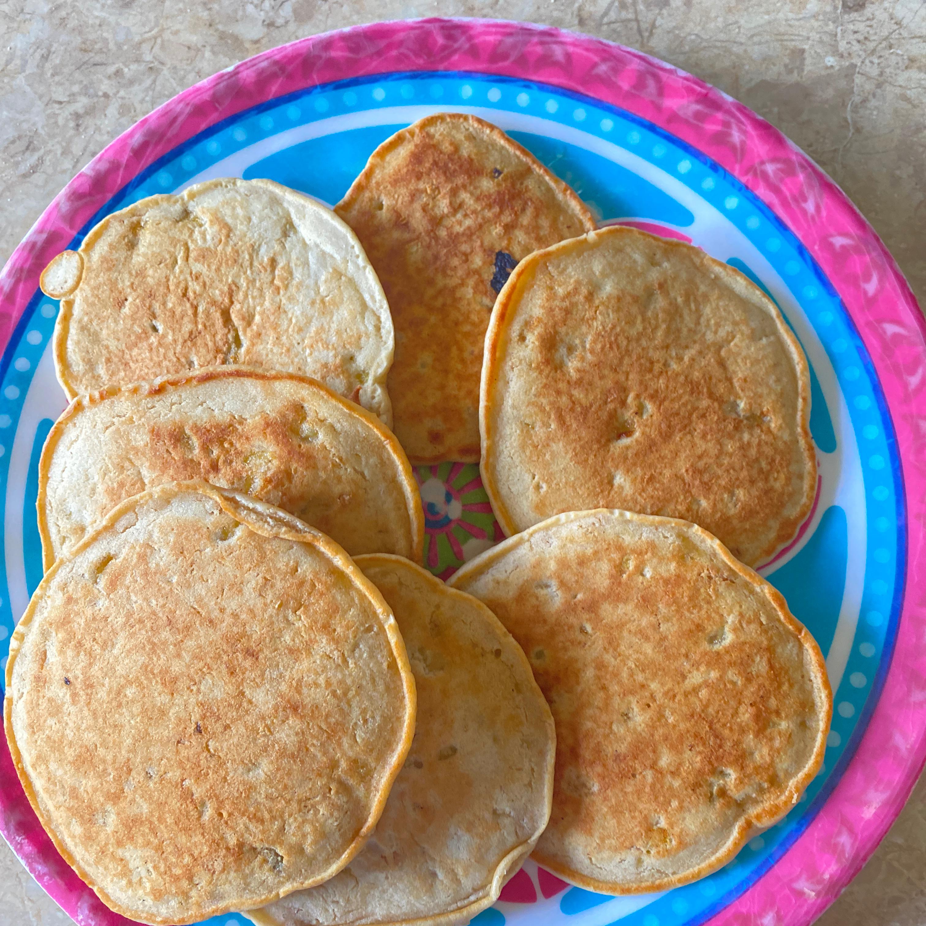 Banana and Peanut Butter Pancakes cfa