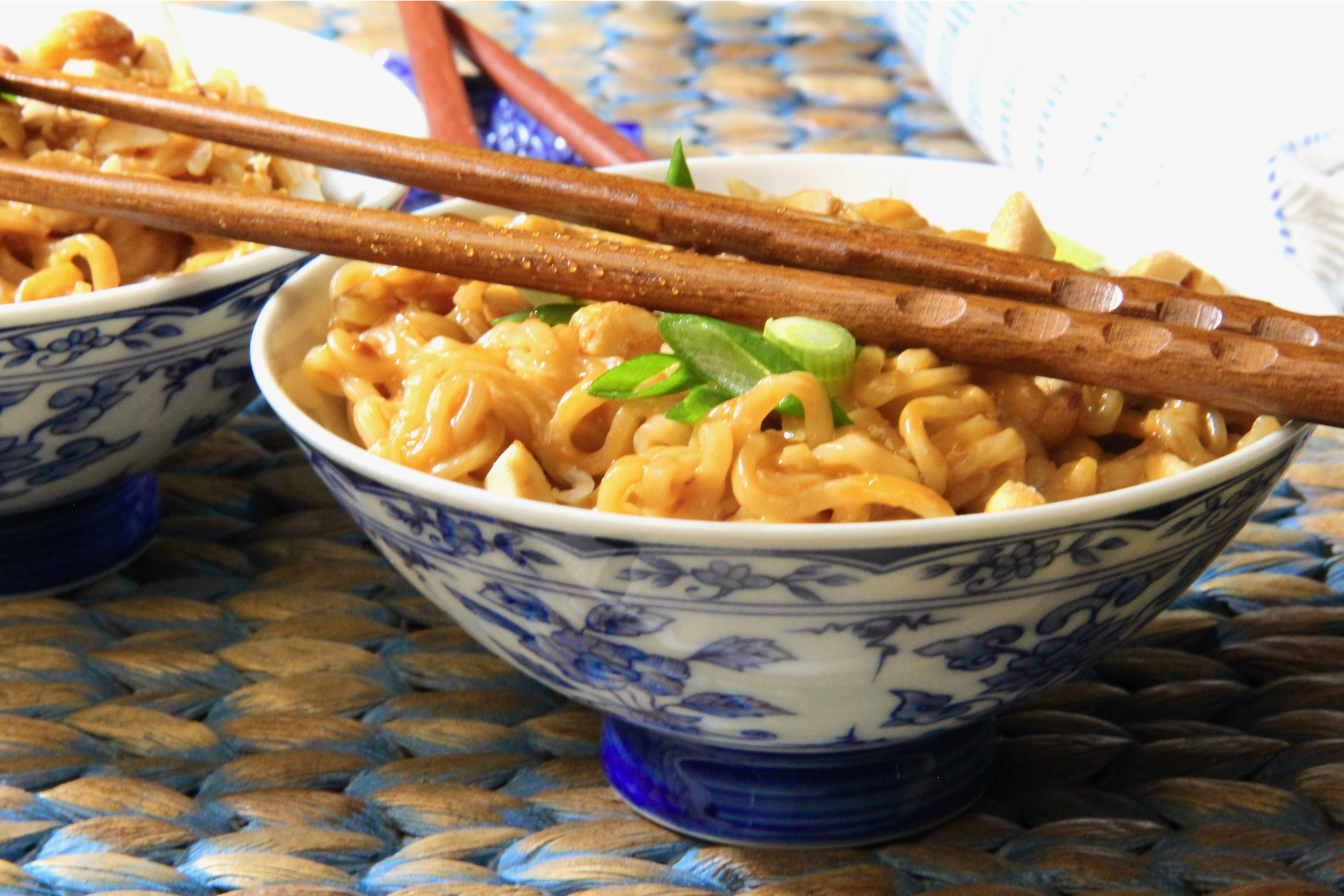 Spicy Asian Ramen Noodles