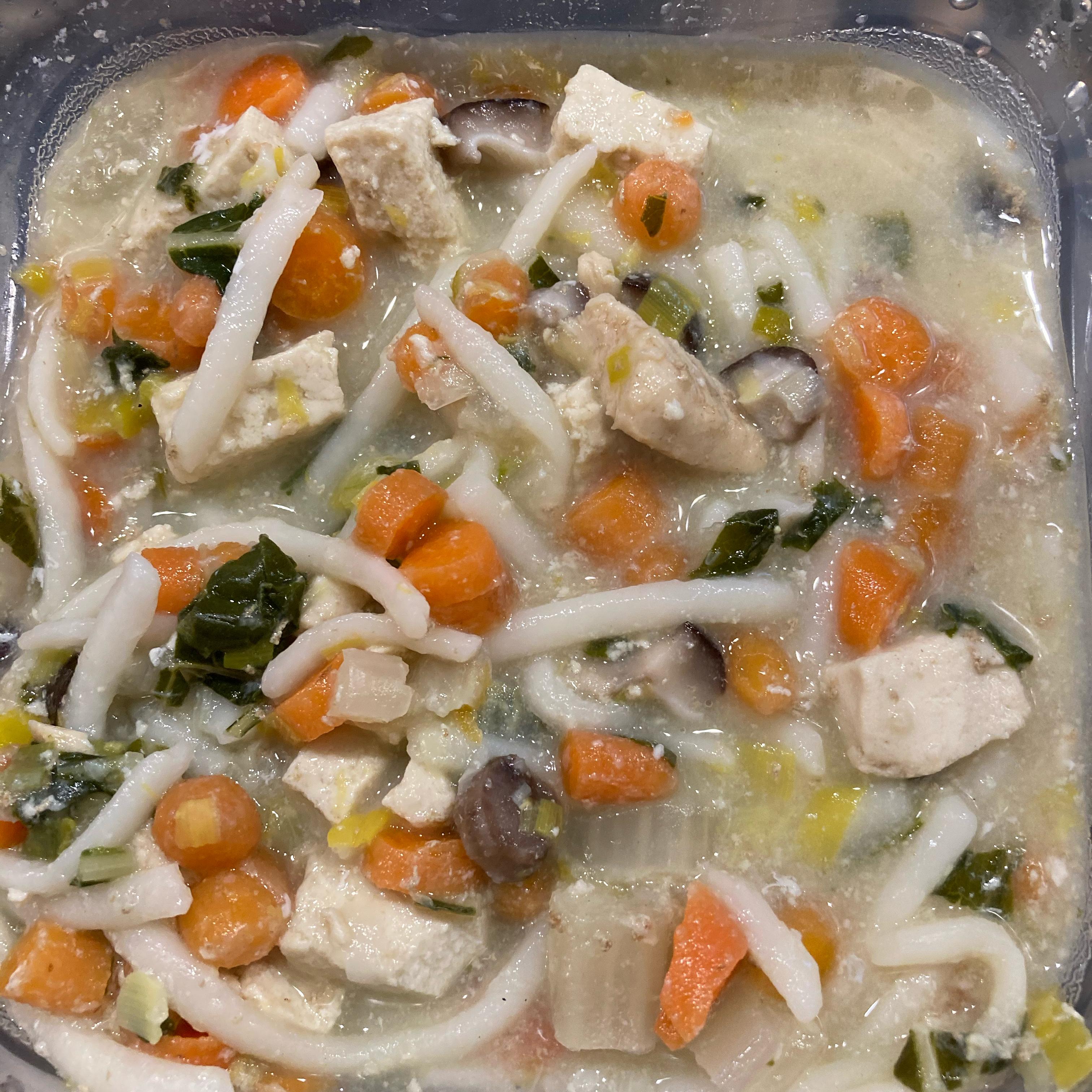 Japanese Nabeyaki Udon Soup