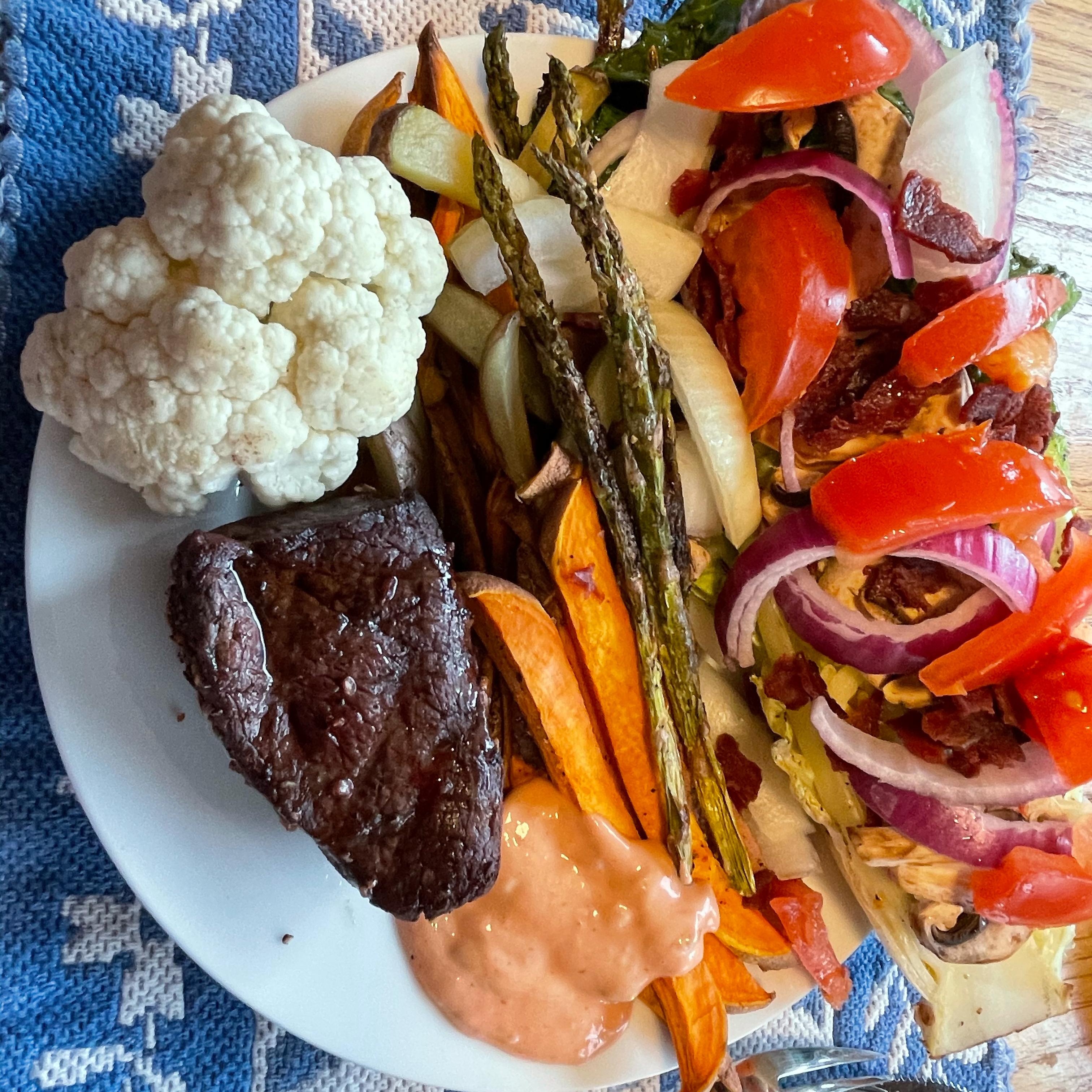 Grilled Romaine BRADBARKER