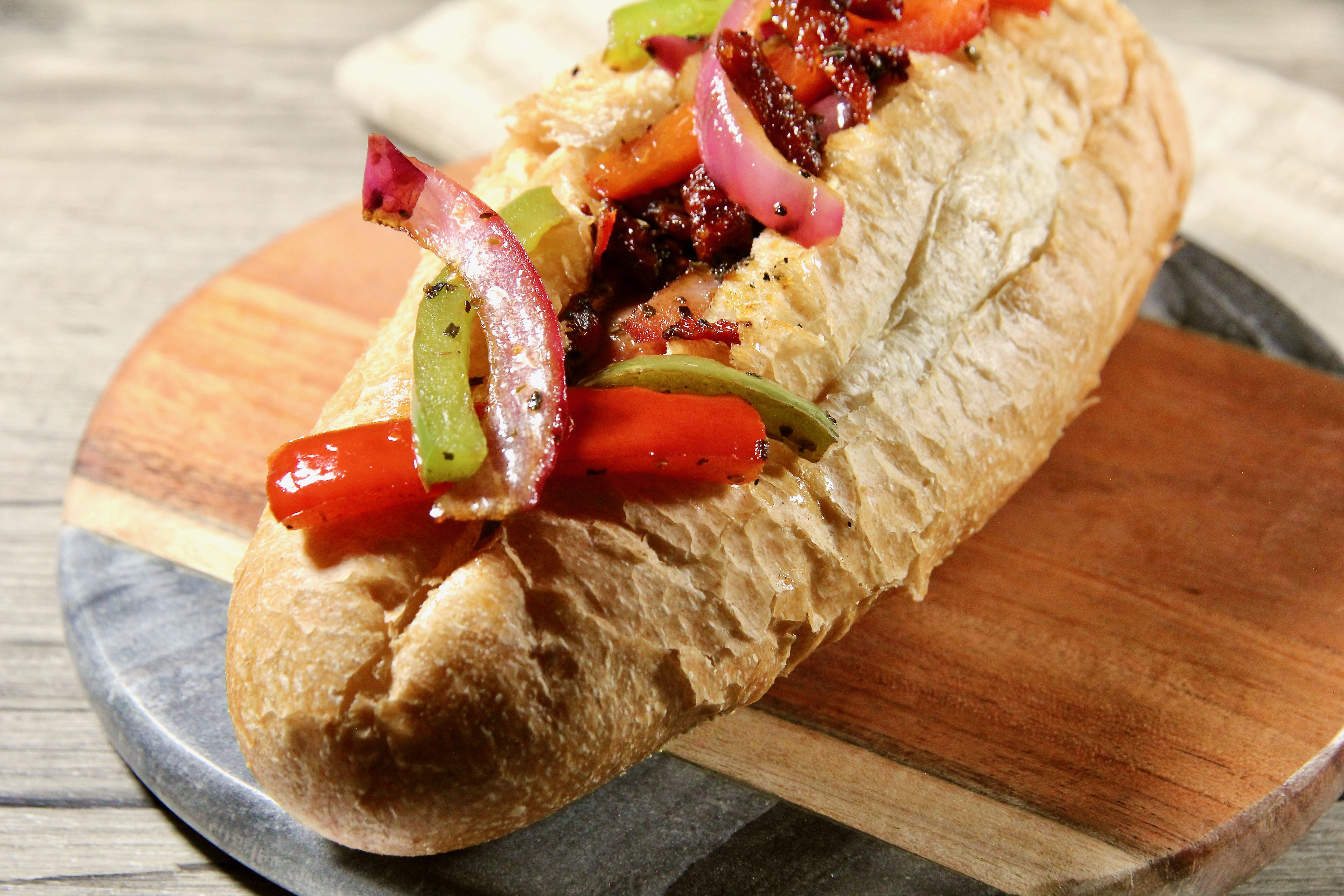 Grilled Italian Turkey Sausages
