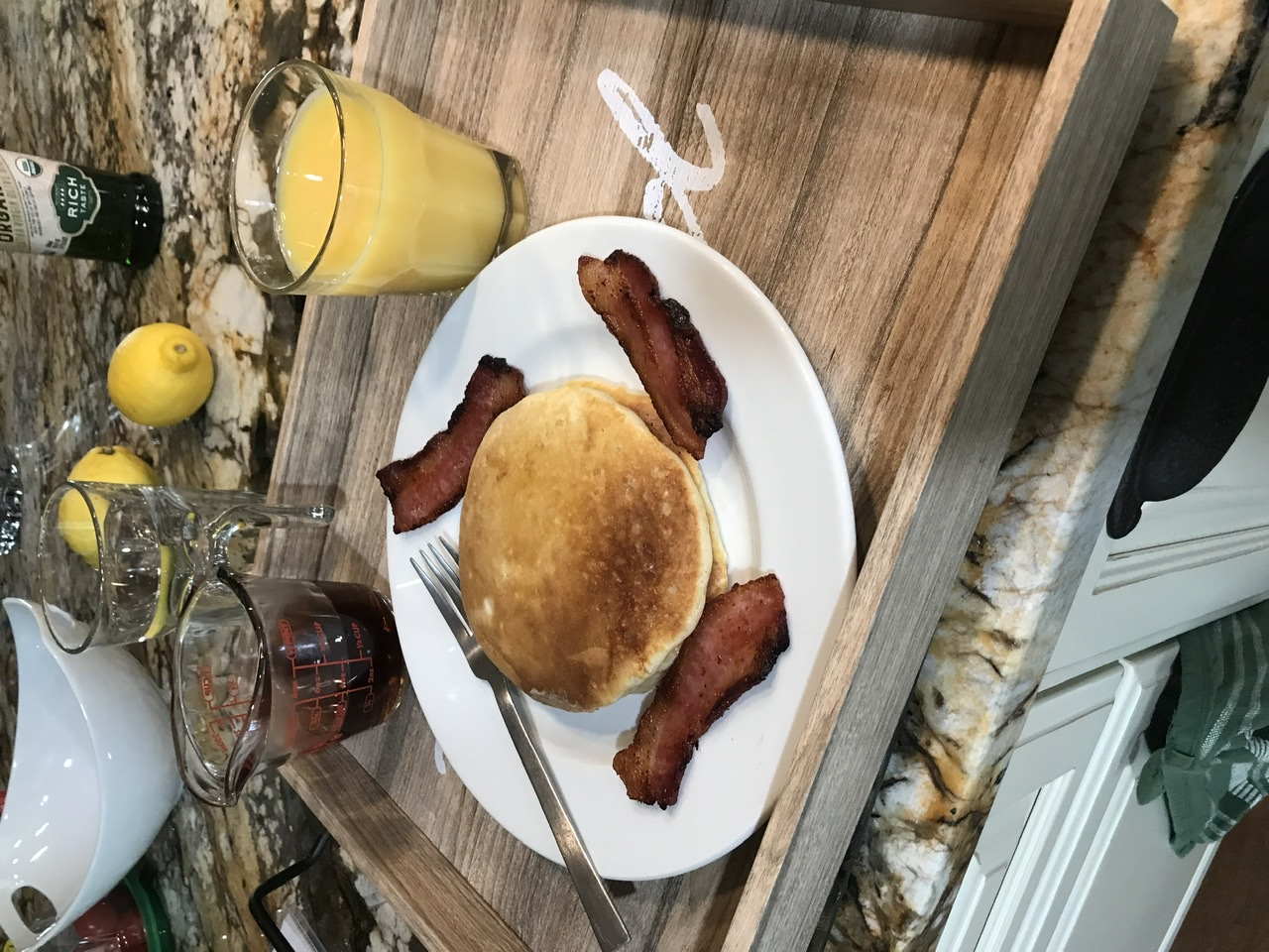 Sourdough Buttermilk Pancakes Shiela