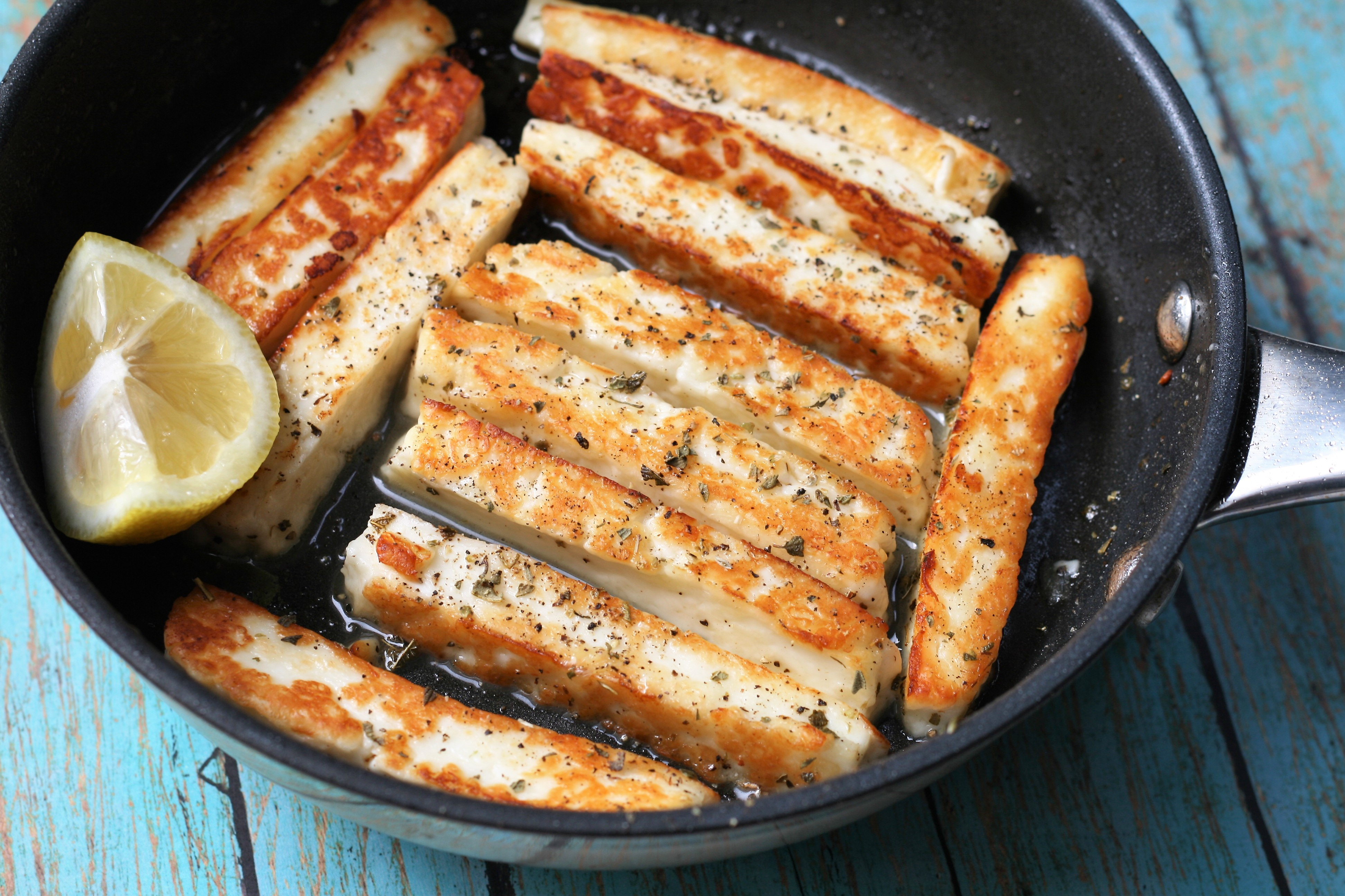 Halloumi Cheese Fingers