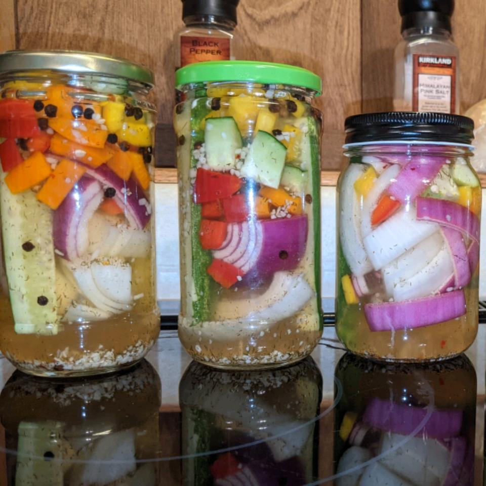 Pickled Grilled Vegetables Shane