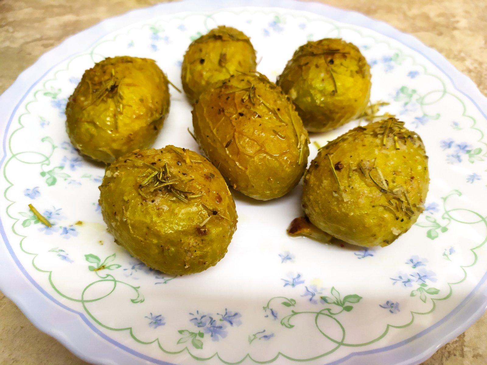 Roasted Baby Potatoes Nade Kachakova