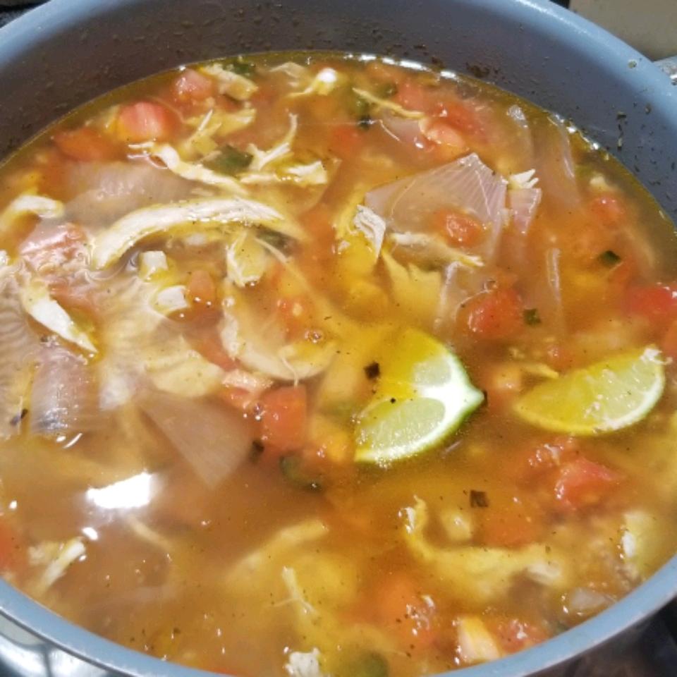 Sopa De Lima (Mexican Lime Soup) Taylor Myers