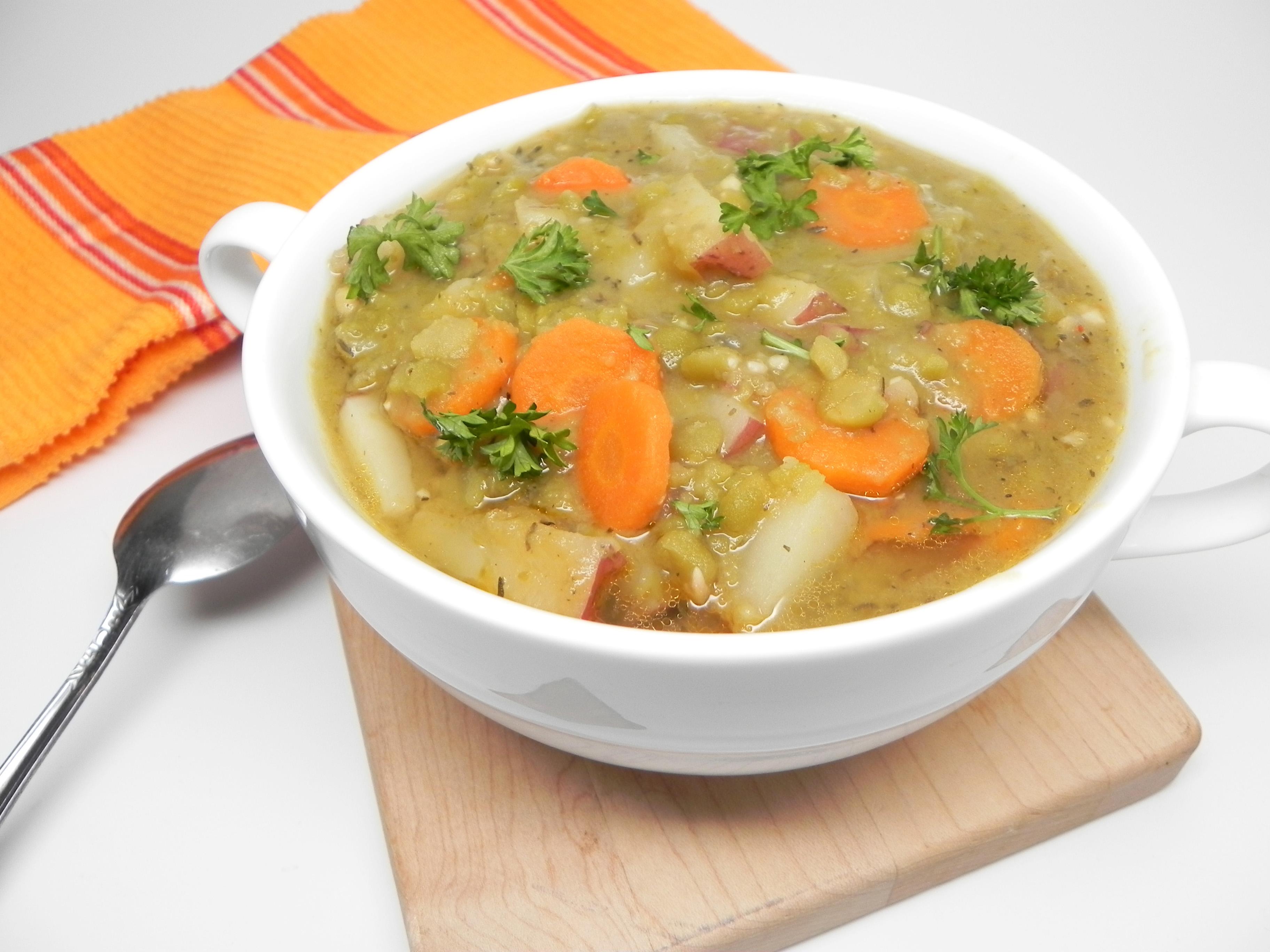 Instant Pot® Vegan Split Pea Soup