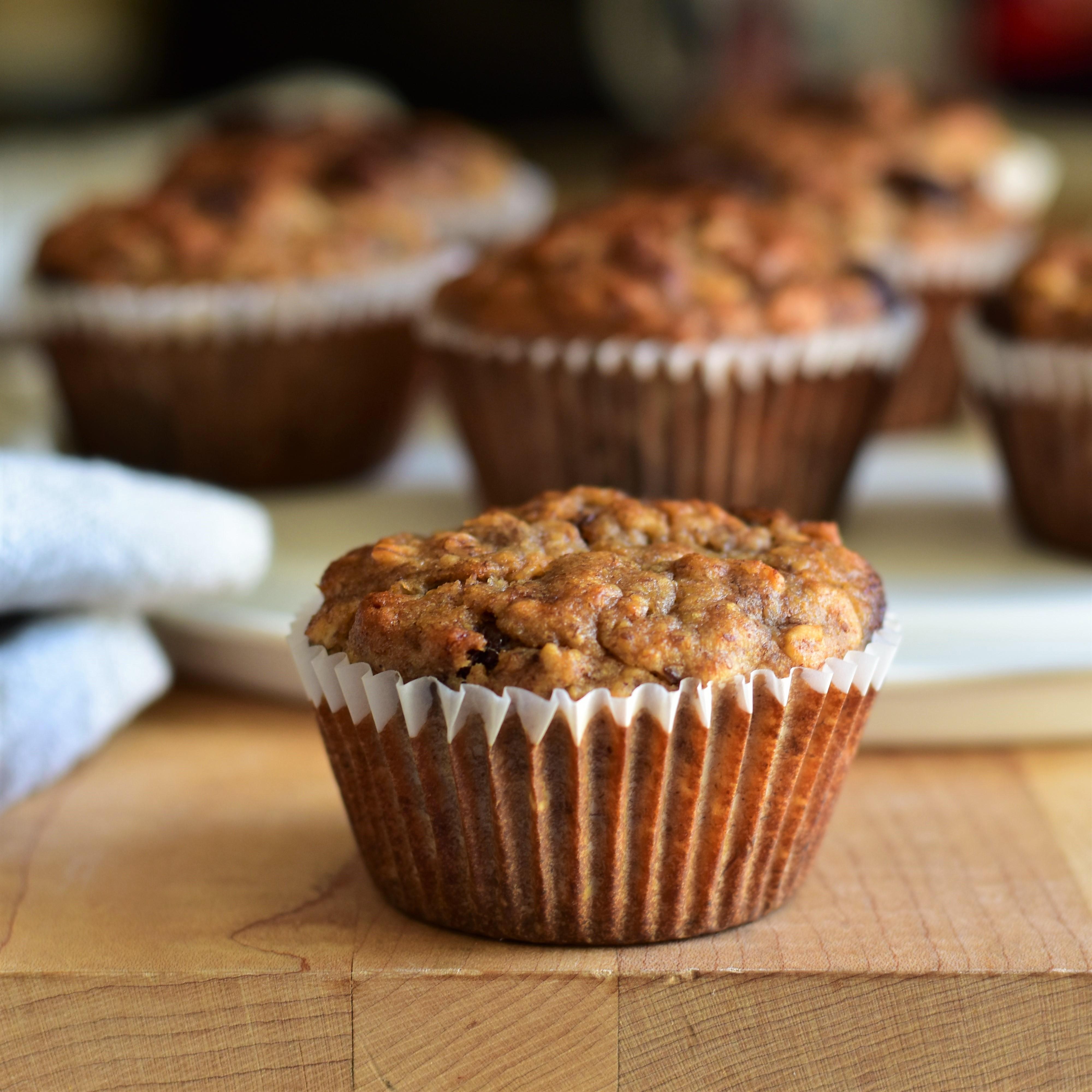 Oatmeal Breakfast Muffins